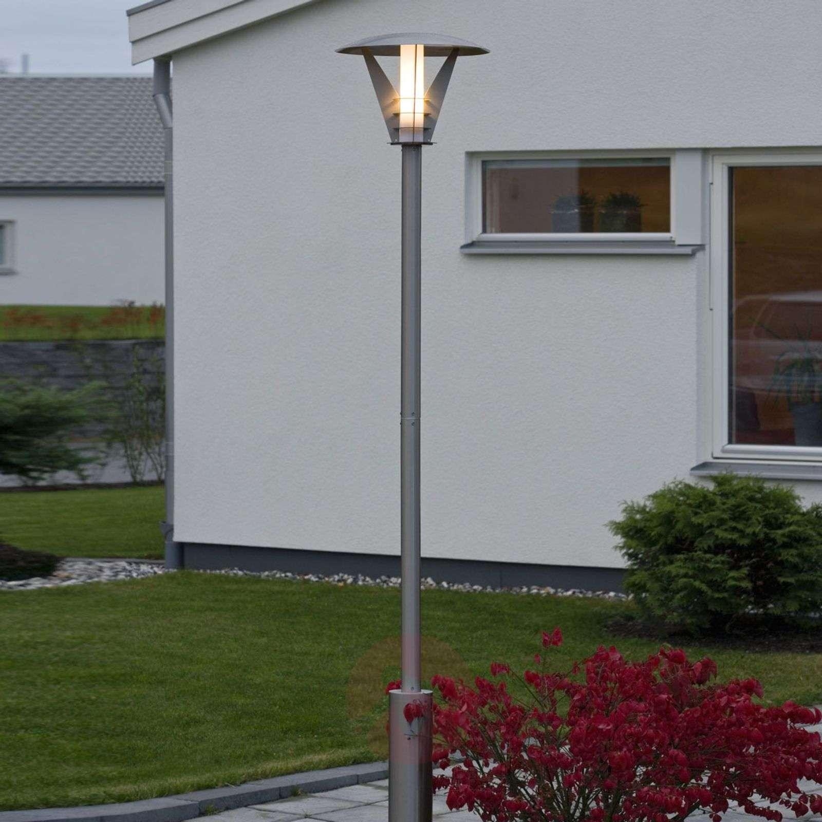Lyhtypylväs LARISSA, ruostumaton teräs, moderni-5522079-01