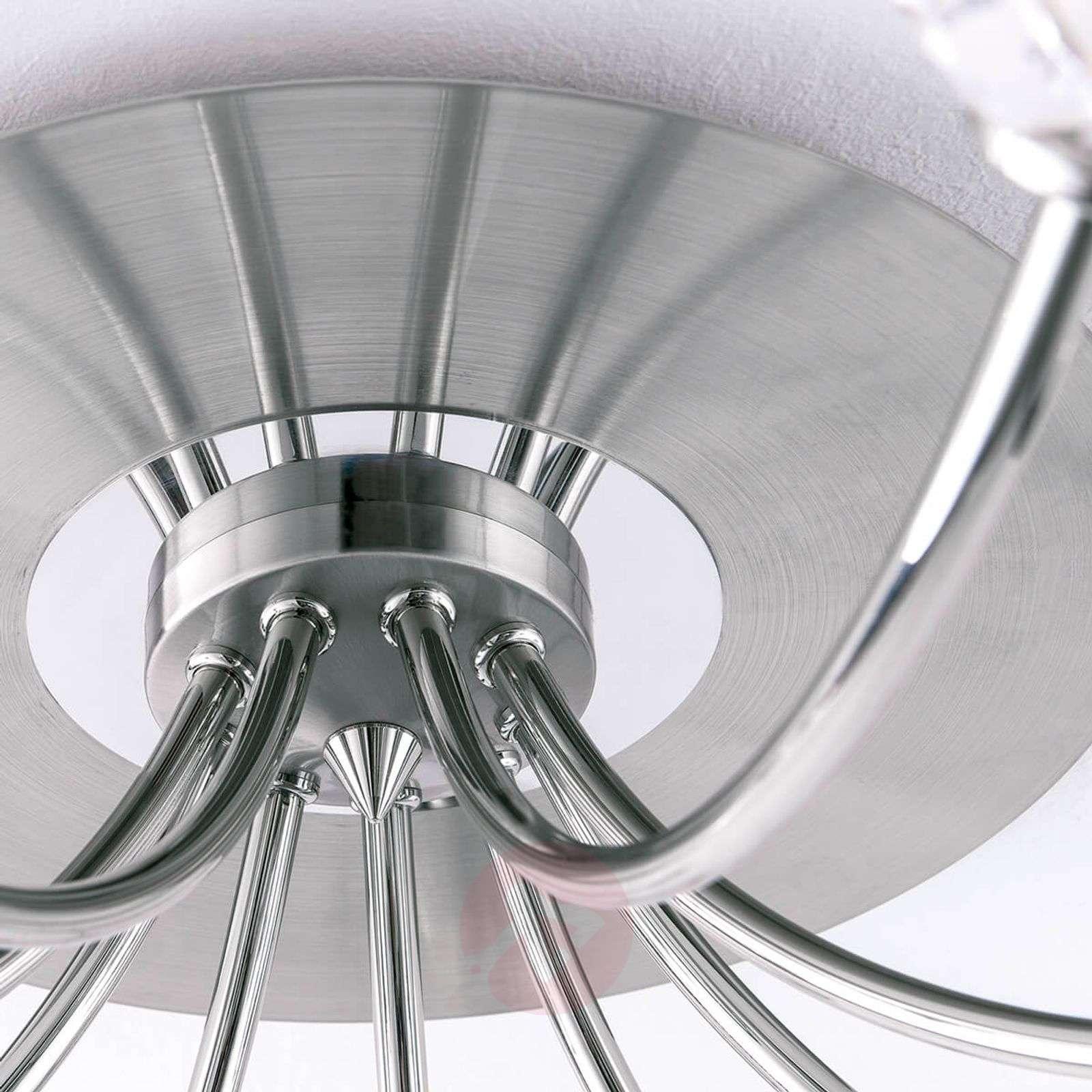 Lyijykristallinen kattovalo Maderno, nikkeli-7255257X-01