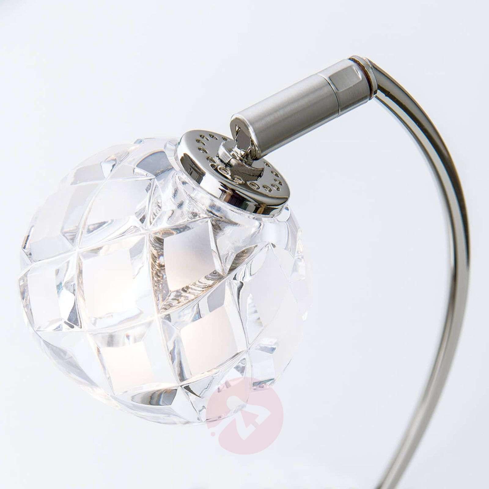 Lyijykristallinen pöytävalaisin Maderno, nikkeli-7255260-01