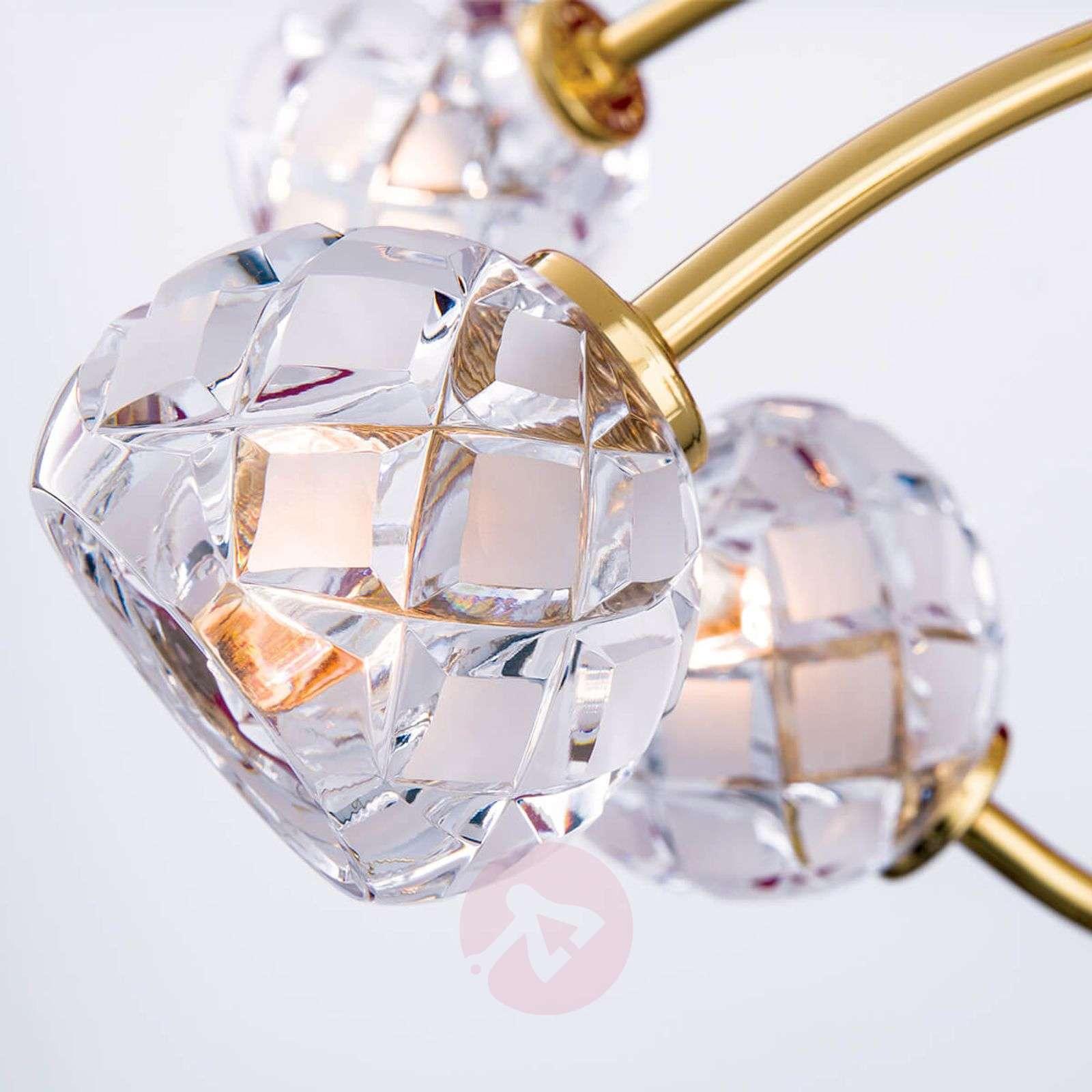 Lyijykristallinen riippuvalo Maderno, kulta-7255261X-01