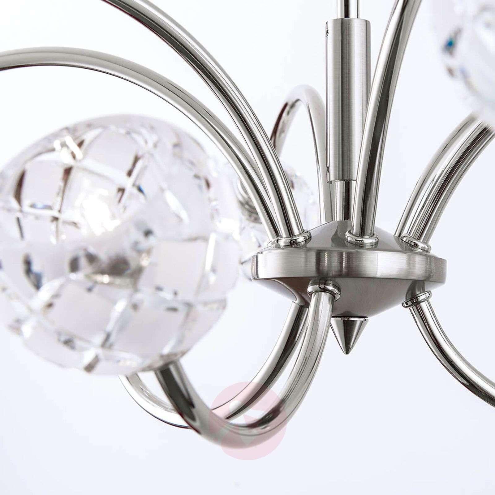 Lyijykristallinen riippuvalo Maderno, nikkeli-7255255X-01