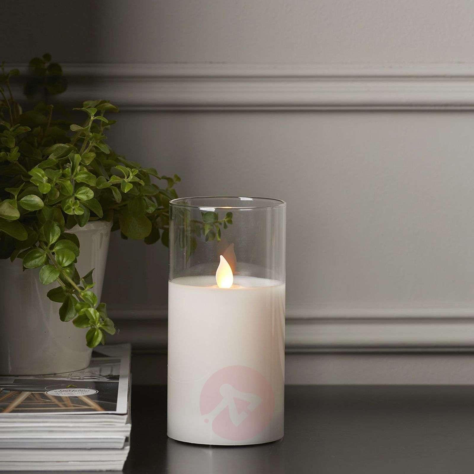 M-Twinkle LED-kynttilä lepatusvaikutus-1523424X-01