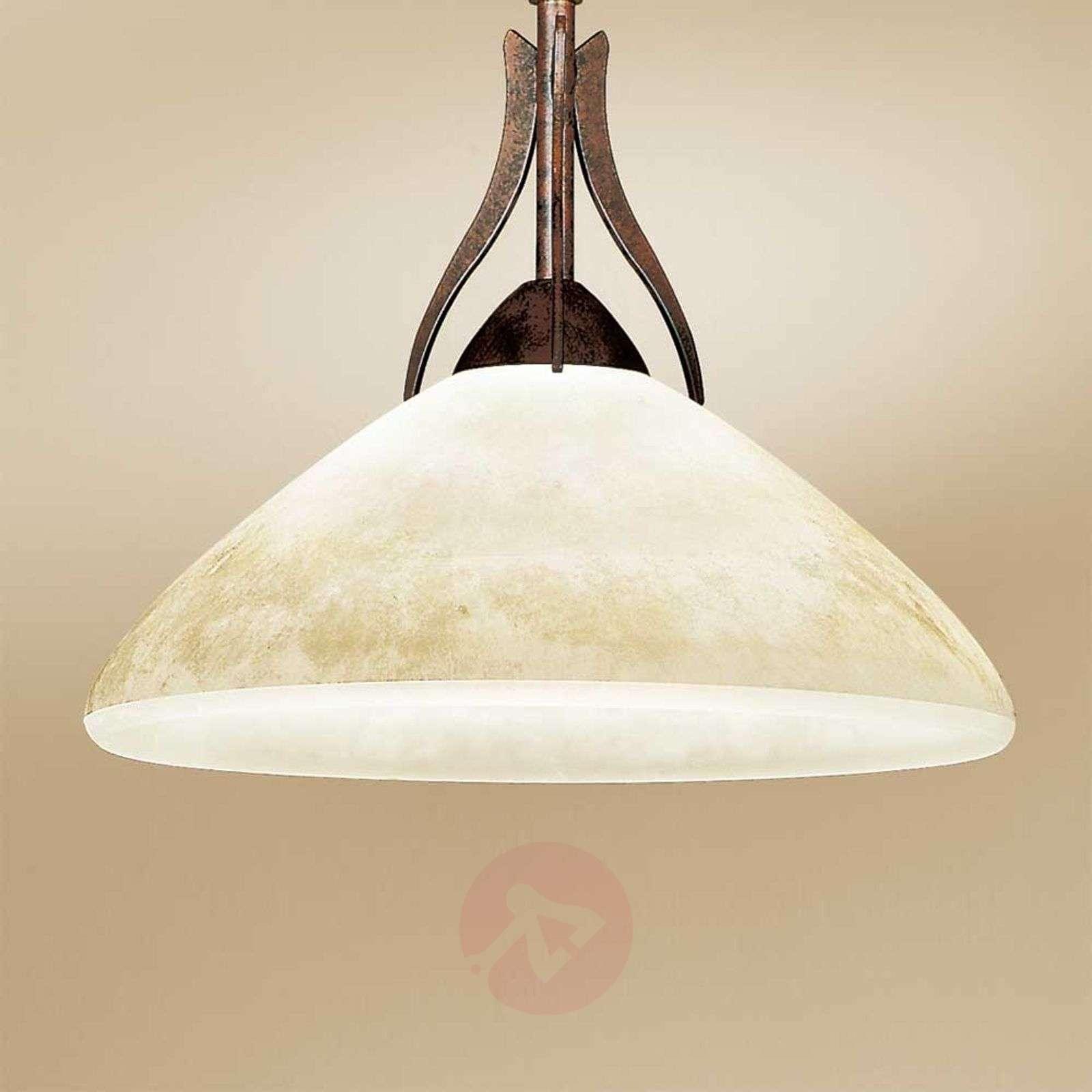 Maalaistyylinen riippuvalo Samuele,1-lampp., scavo