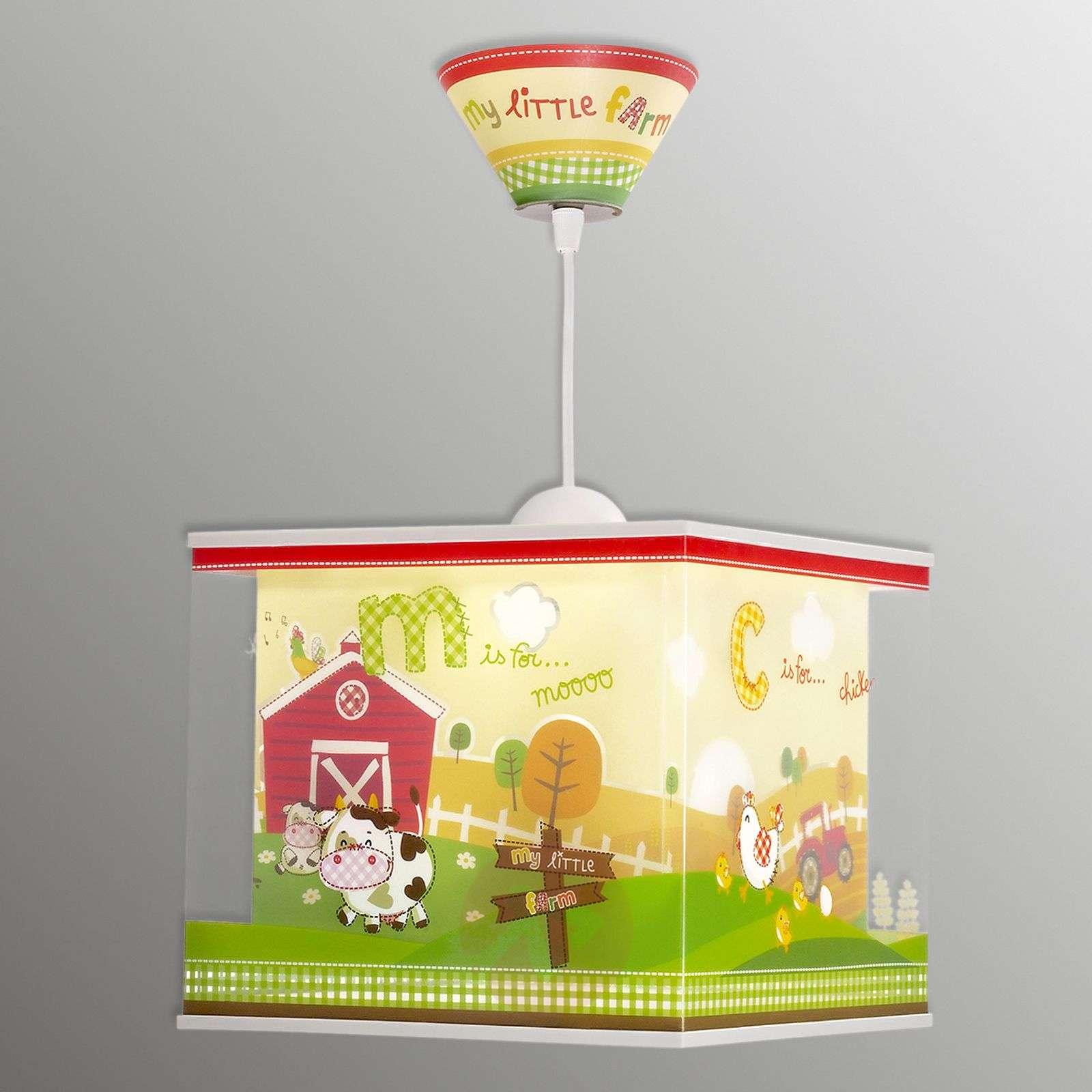 Maatila-aiheinen riippuvalaisin My Little Farm-2507353-01