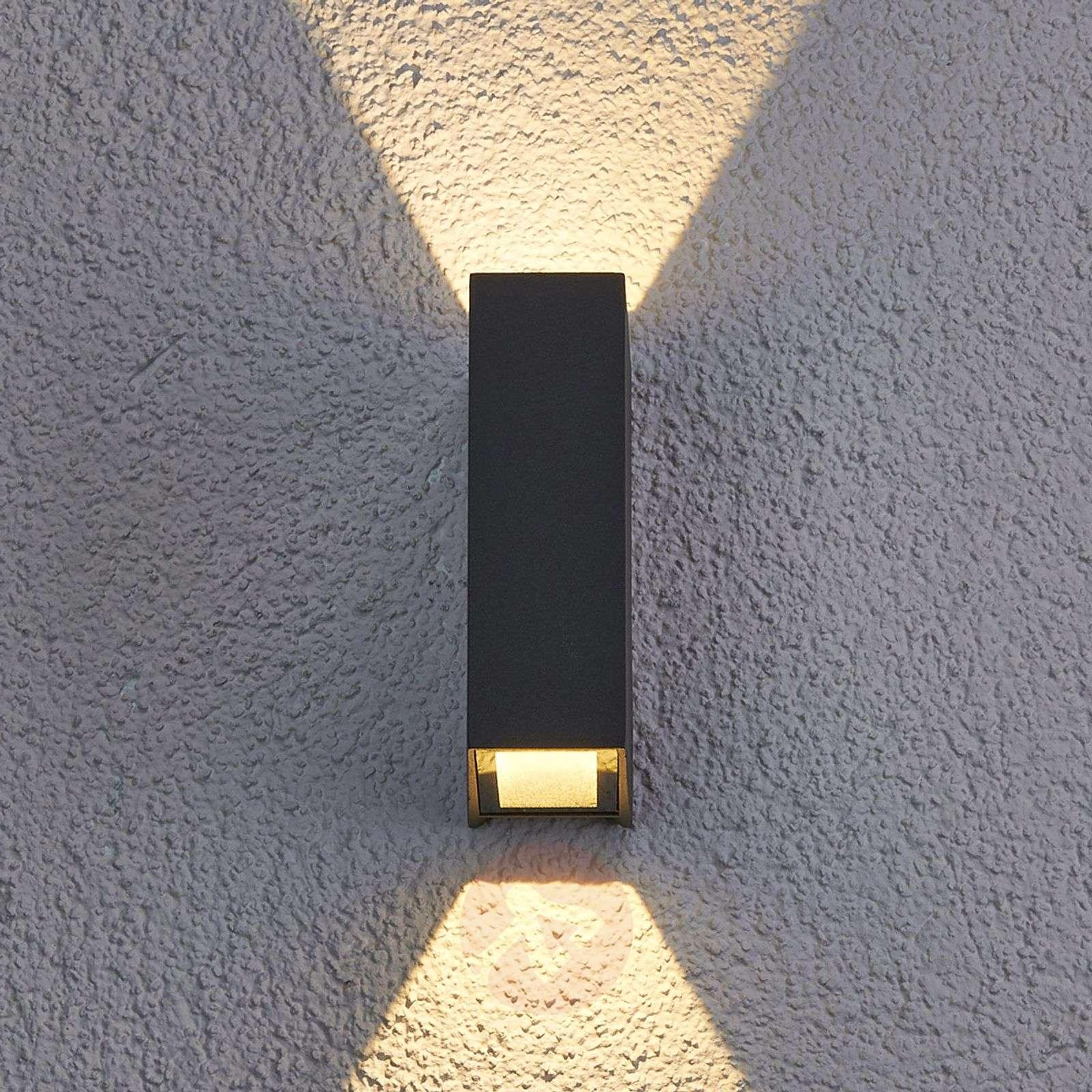 Maisie LED-ulkoseinävalaisin alumiinista-9616042-01