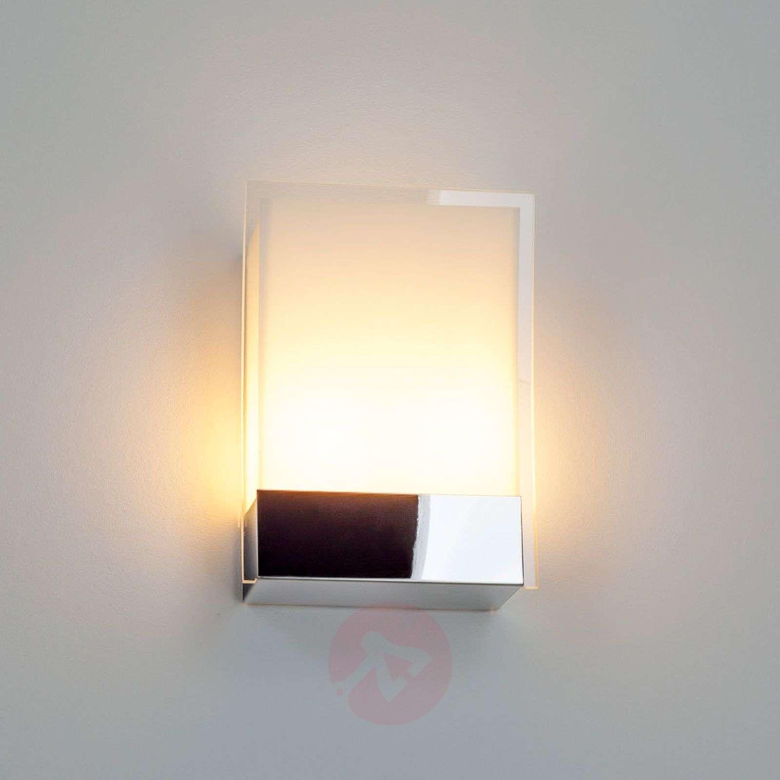 Malthe moderni seinävalaisin lasia ja metallia-9633020-01