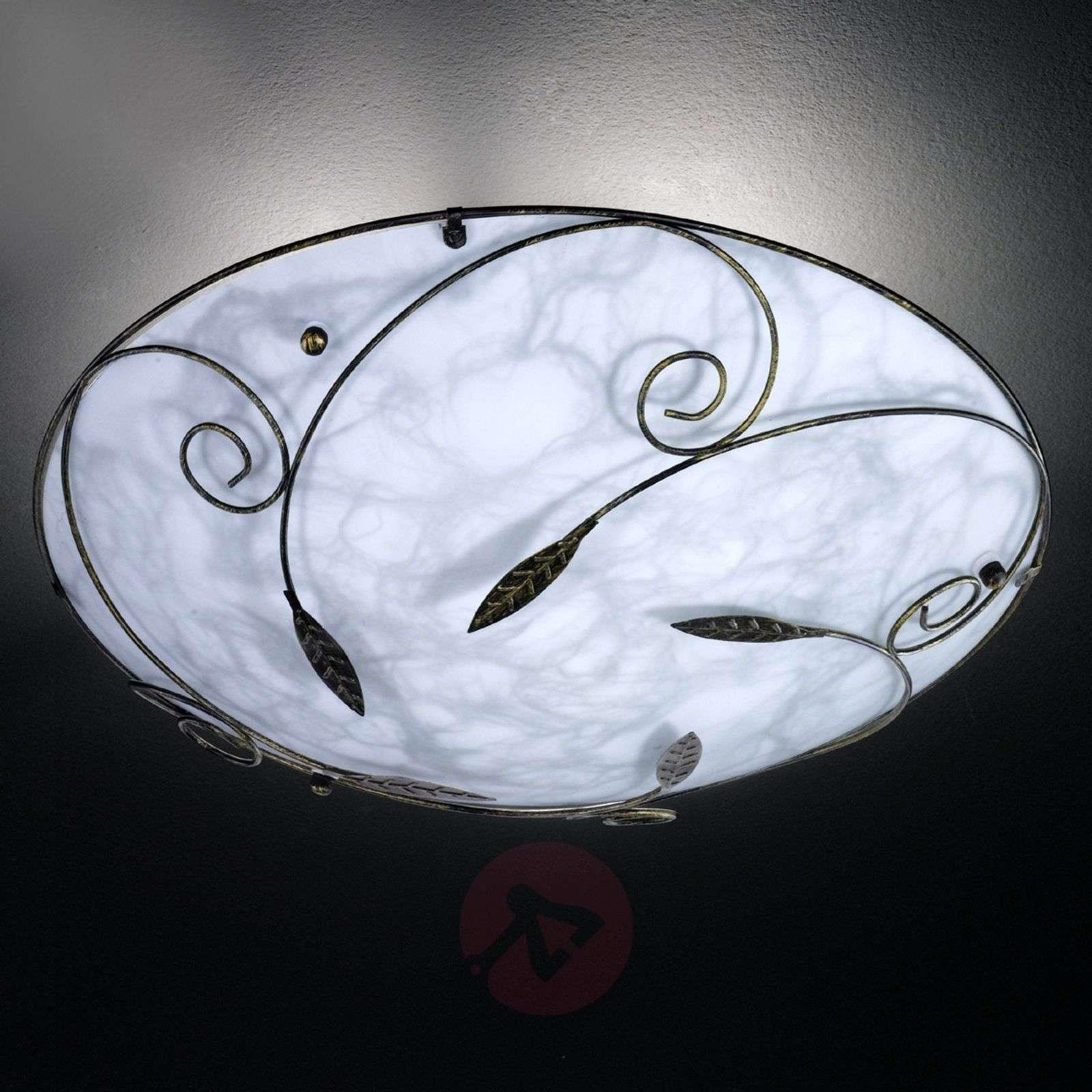 Marmoroitu kattovalaisin MOL metallikoristelulla-4580087-01