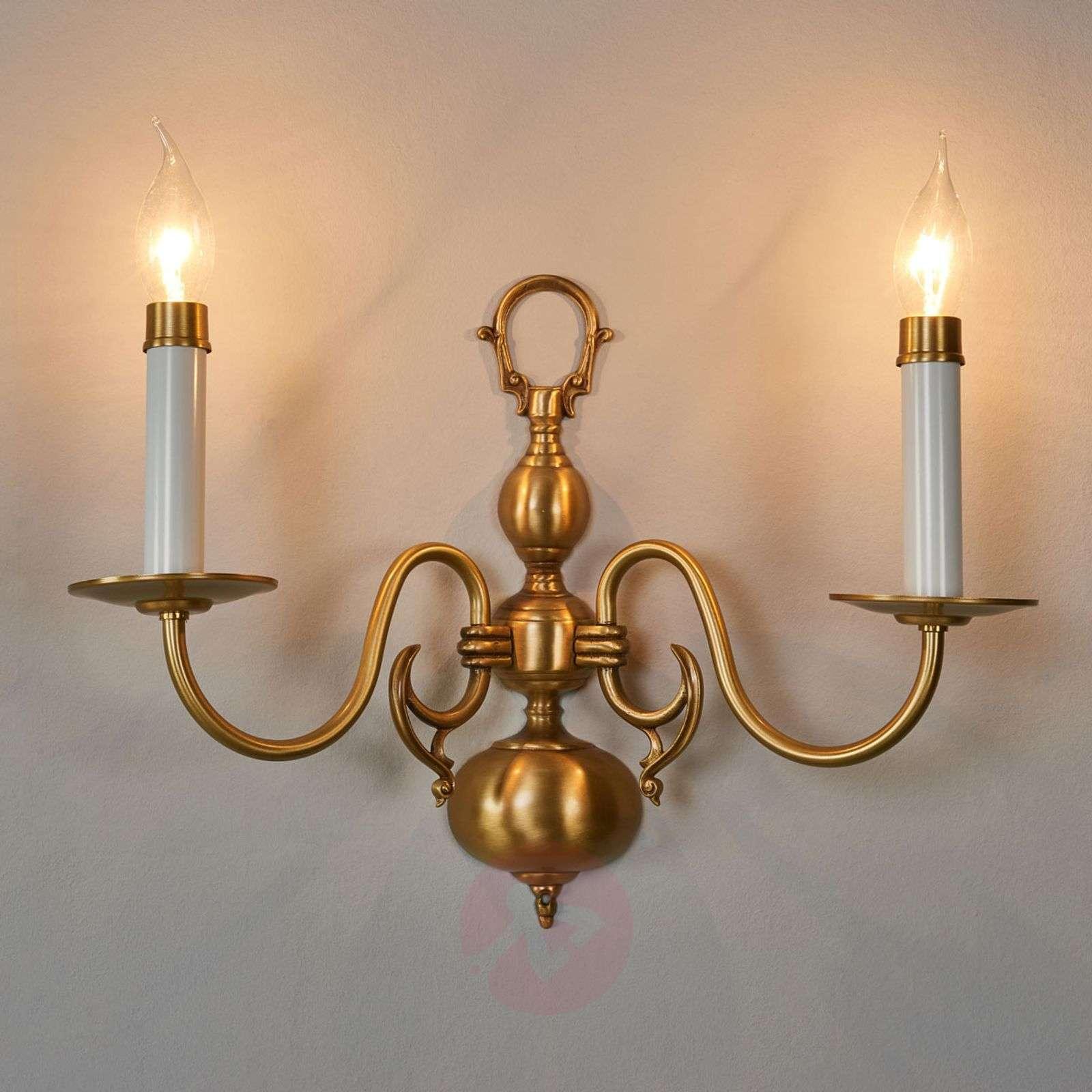 Mattakultainen HOLANDESAS-seinävalaisin, 2 lamppua-8023044-01