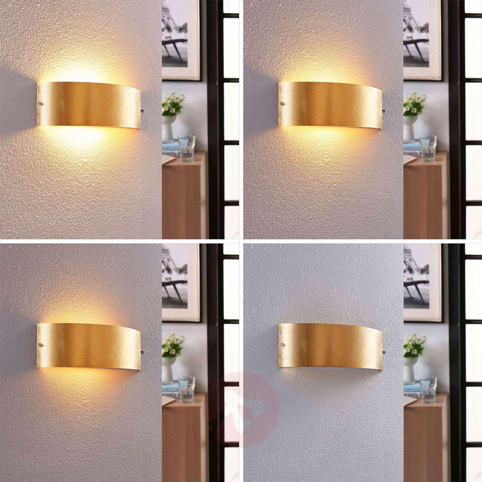 Mattakultainen LED-seinävalaisin Inga, Easydim-9621289-02