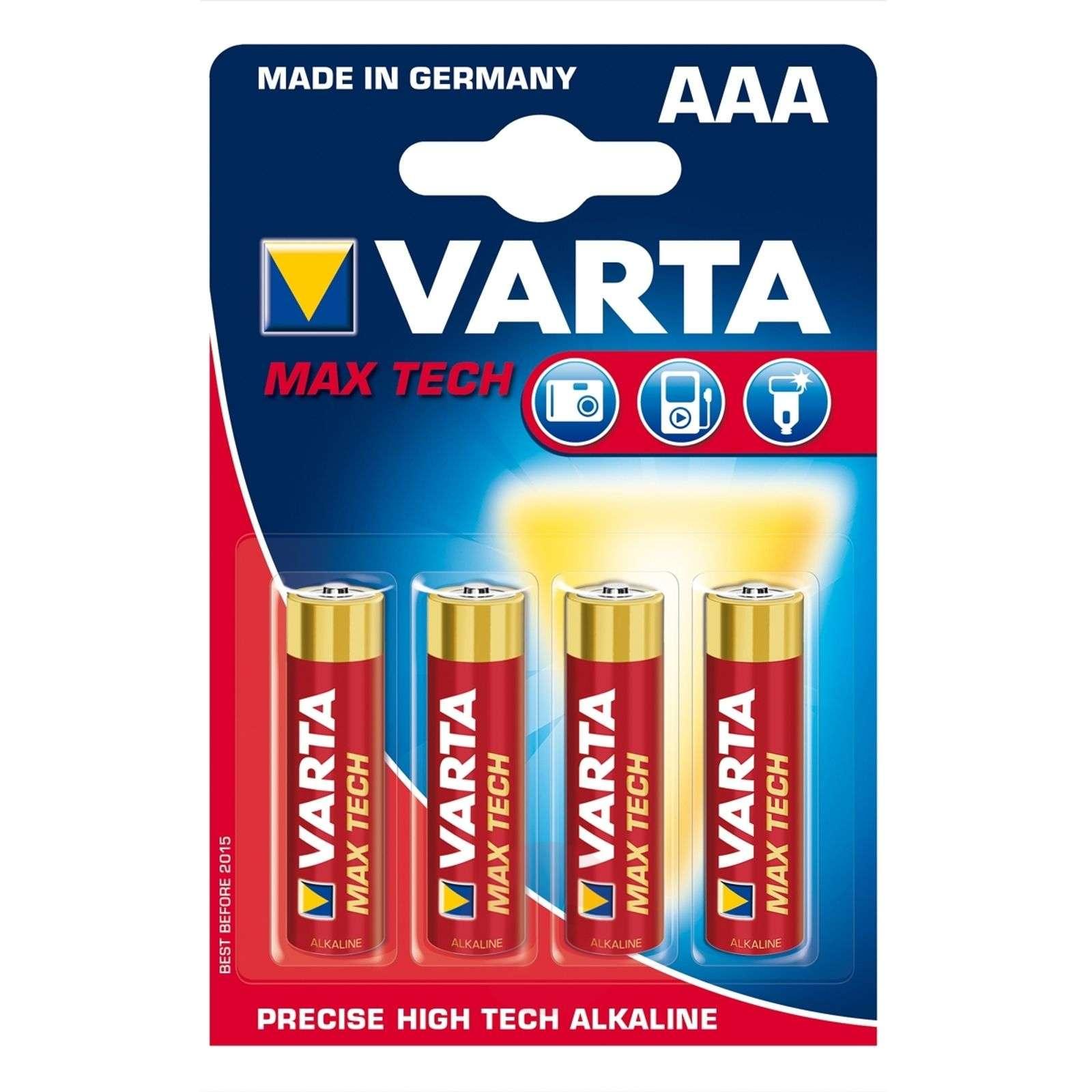 Max Tech-paristo AAA Micro 4703 4kpl läpipaino-9510059-01