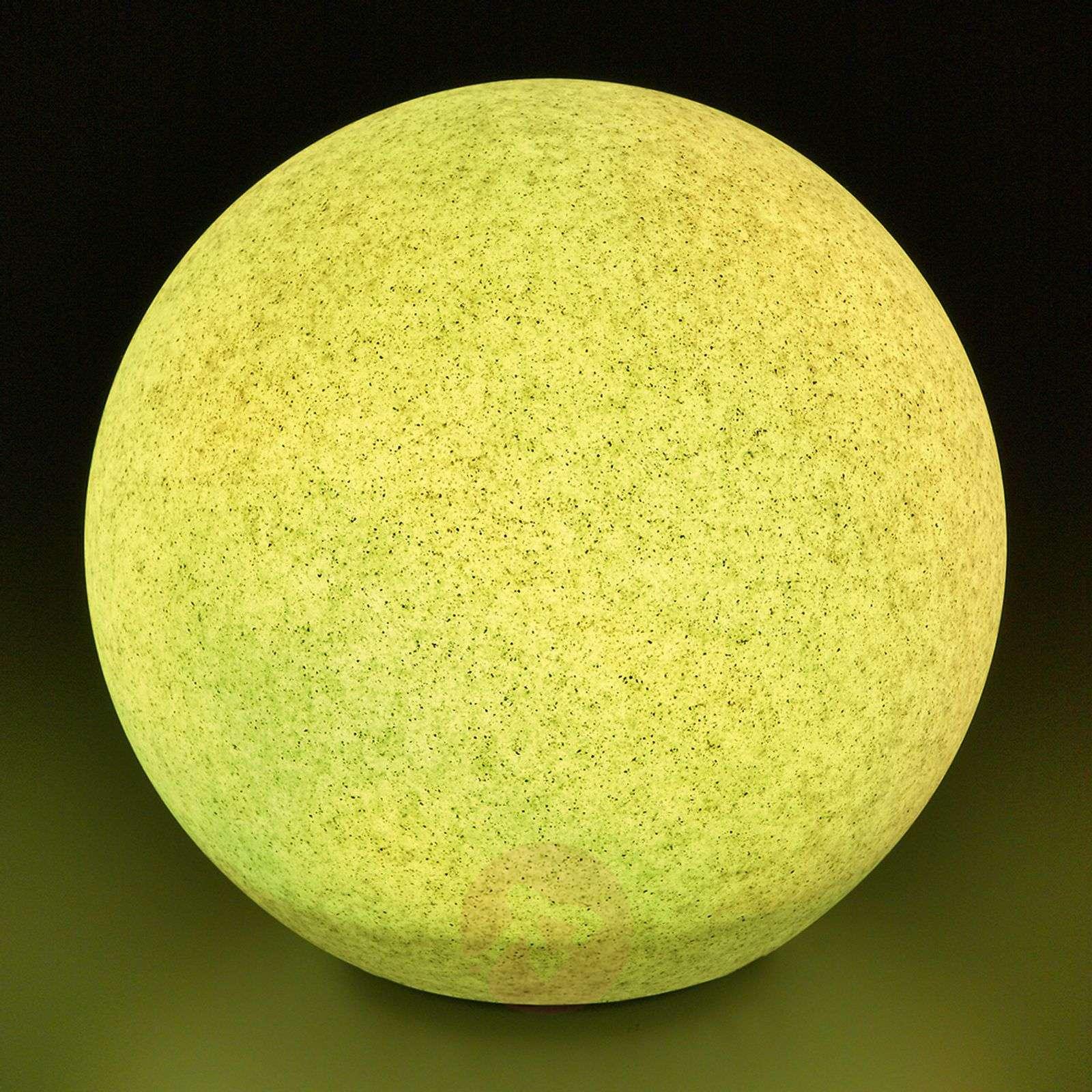 Mega Stone LED-pallovalaisin aurinkokennolla-3012220X-01