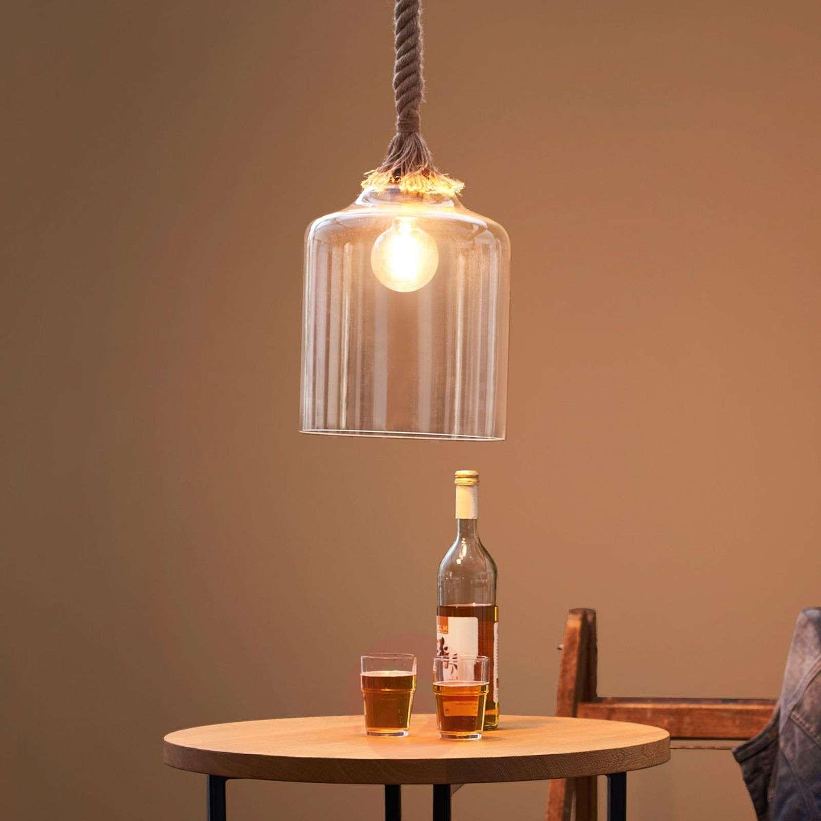 Merihenkisesti suunniteltu lasiriippuvalo Judith-9005206-01