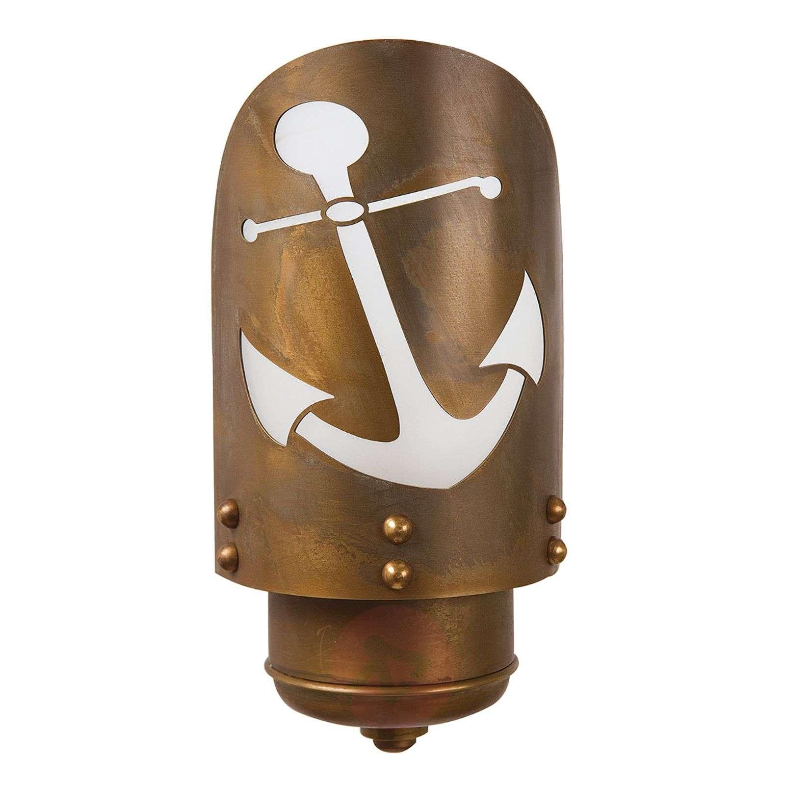 Merivedenkestävä Cara-ulkoseinävalaisin ankkurilla-6515206-01