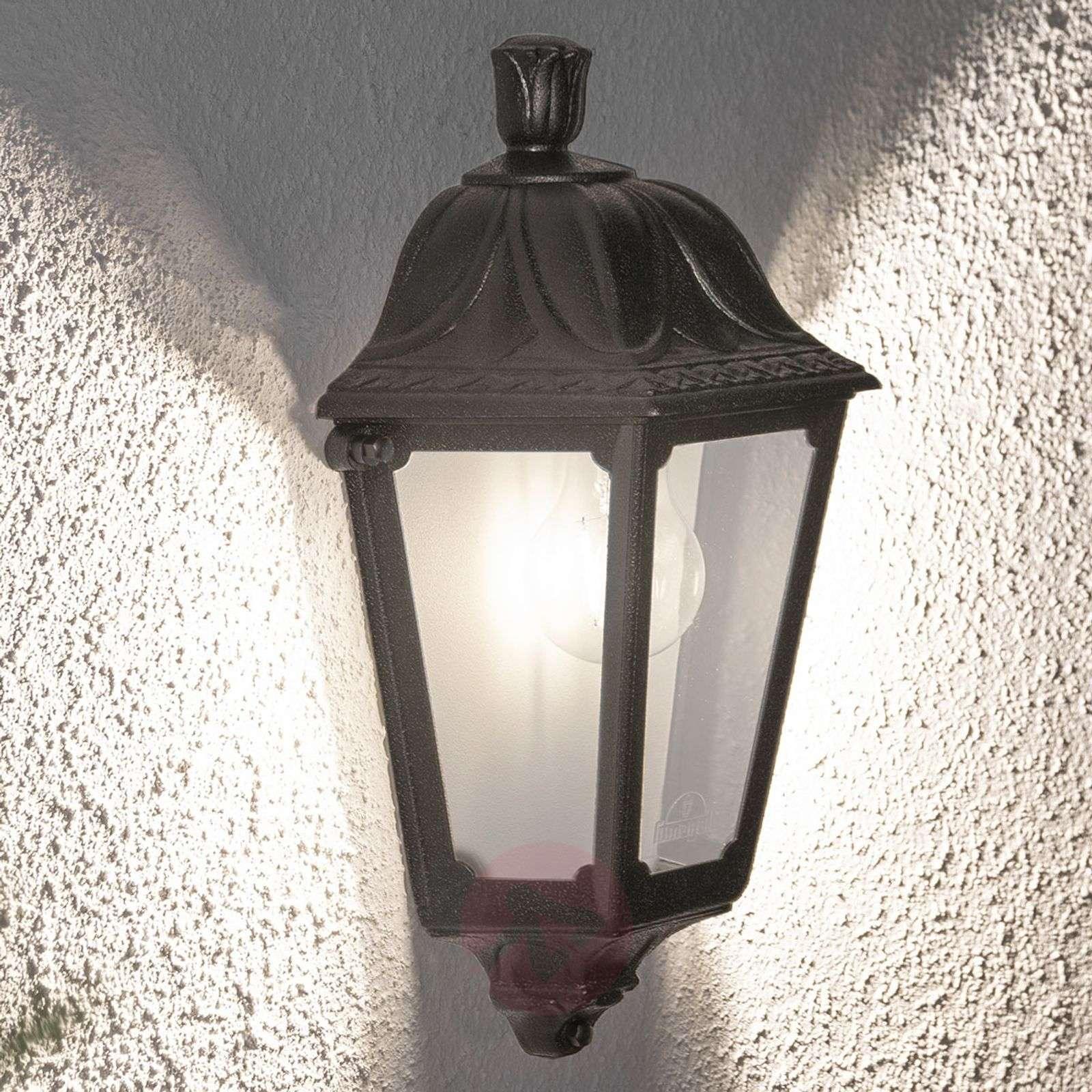 Merivedenkestävä LED-ulkoseinävalaisin Iesse musta-3538069-02