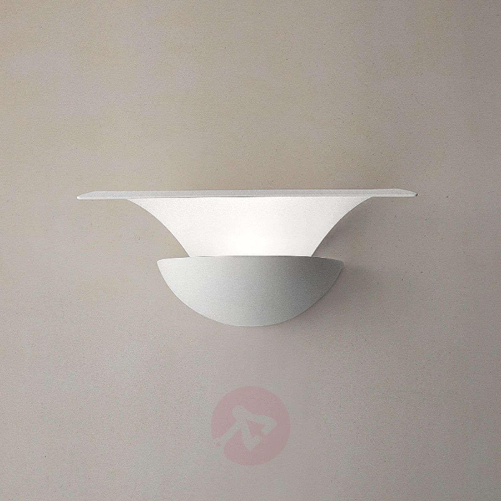 Metallinen LED-seinävalaisin Blossomy, valkoinen-6516248-01