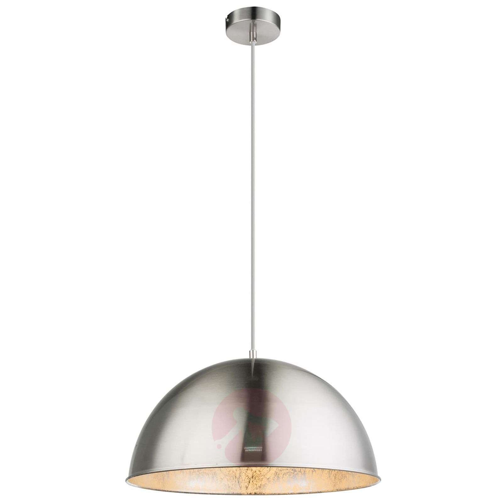 Metallinen riippuvalaisin Nosy, nikkeli/hopea-4015066-01
