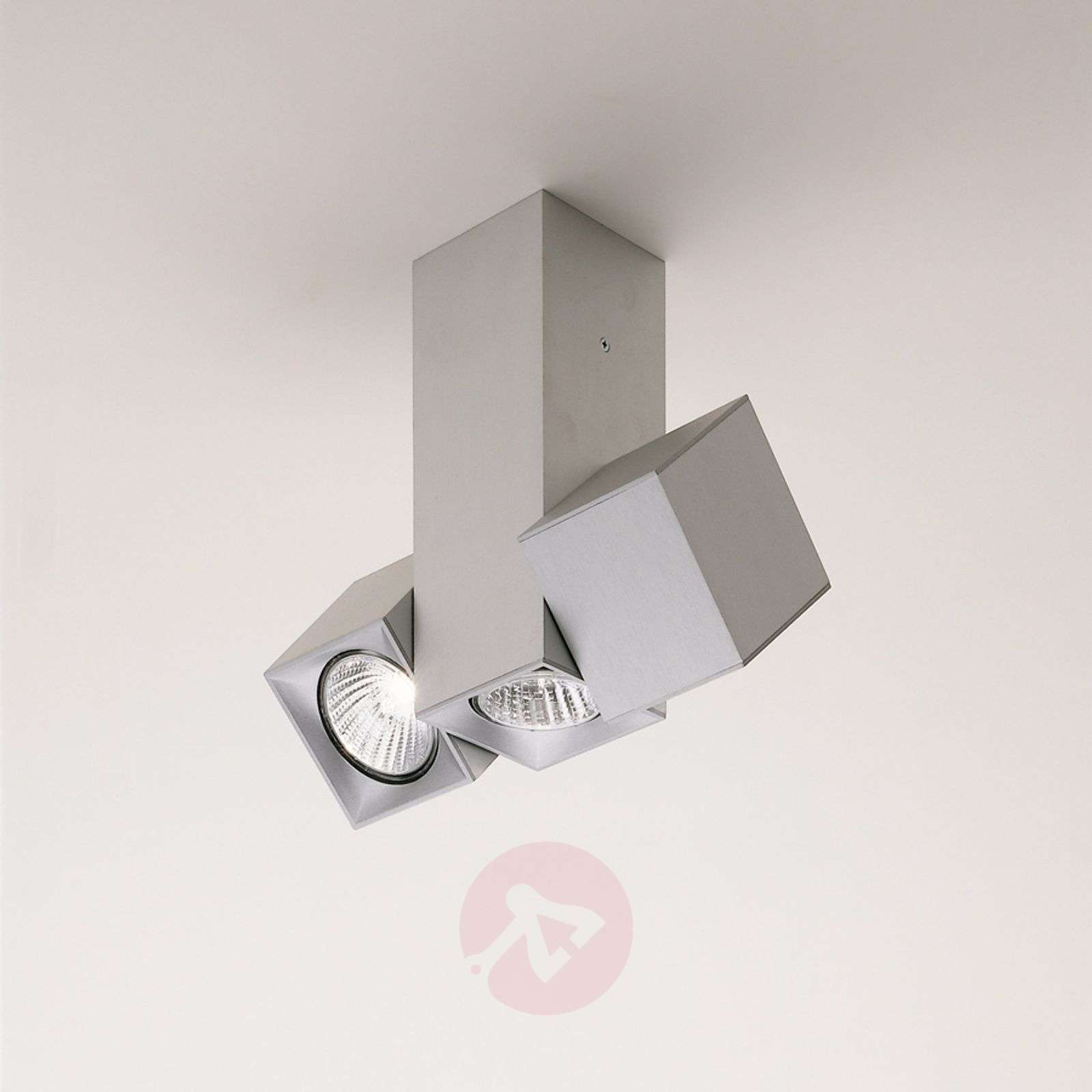 Milan Dau kattolamppu spotti käännettävä 2 lamppua-6708080X-01
