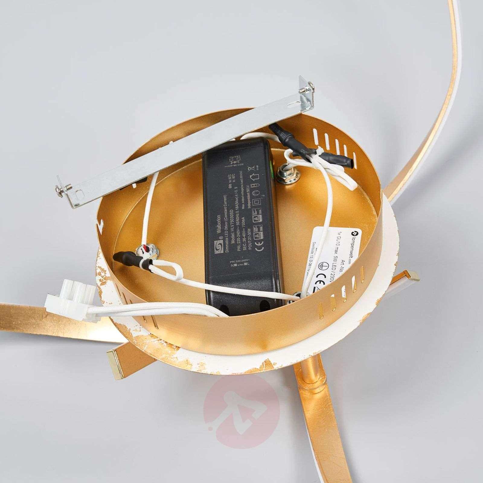 Milane – kullanvärinen, kirkas LED-kattolamppu-9985057-02