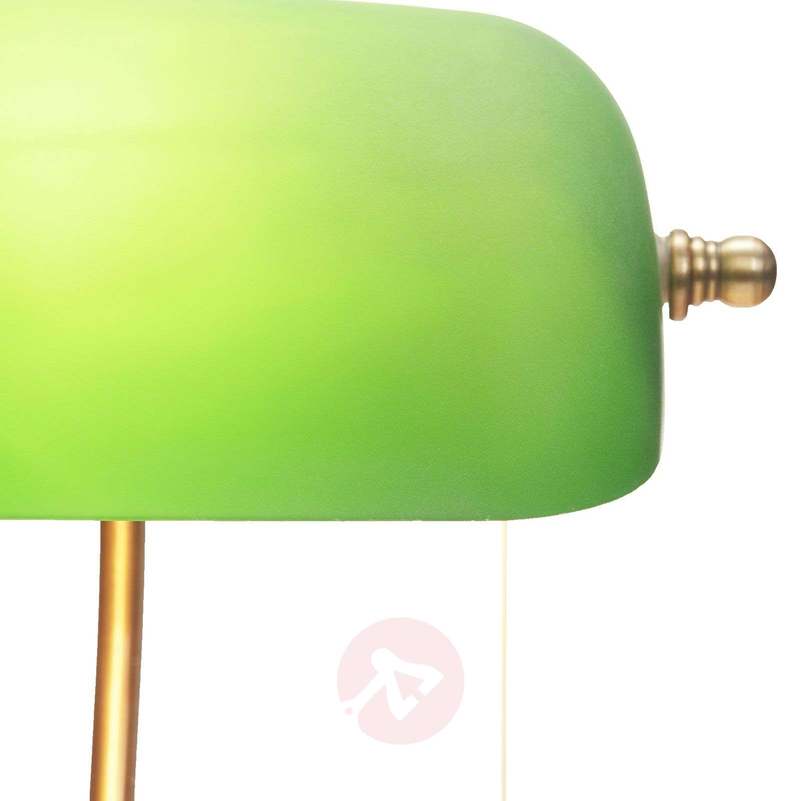 Milenka työpöytävalaisin vihreällä varjostimella-9620986-03