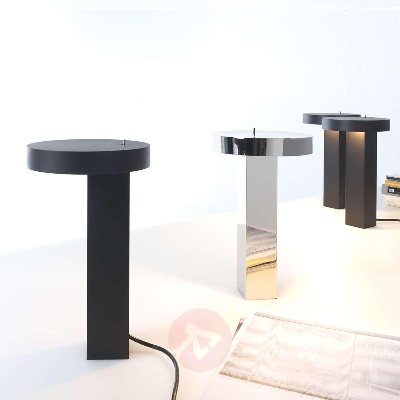 Minimalistinen design-LED-pöytävalaisin Bob-1071070X-01