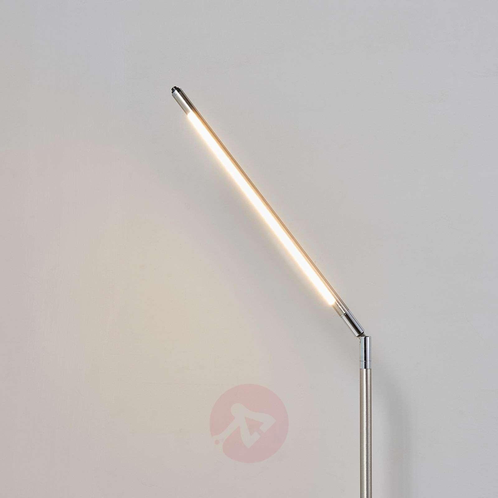 Minimalistinen LED-lattiavalaisin Jabbo, lukuvalo-9620455-010