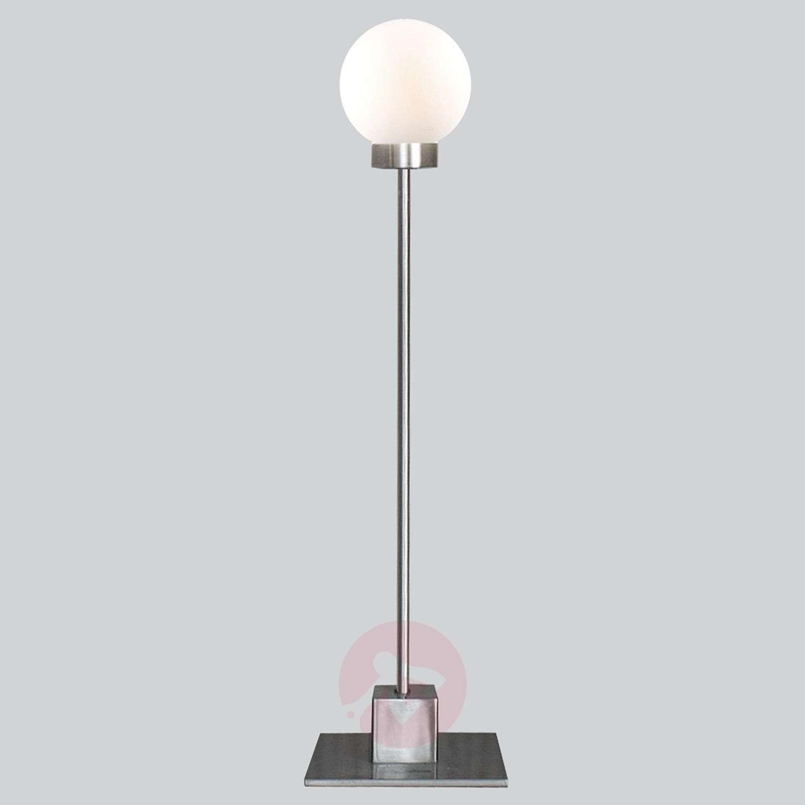 Minimalistinen pöytälamppu Snowball, metallinen-7013082-01