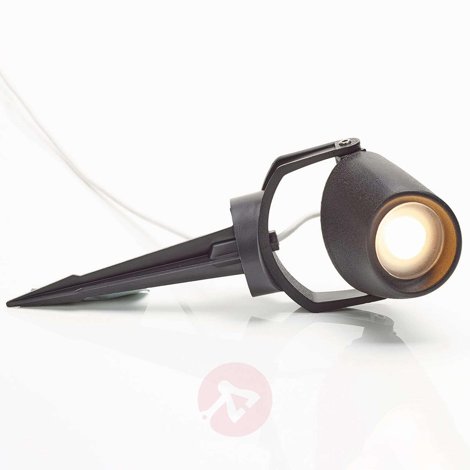Minitommy – LED-maapiikkikohdevalo mustana-3538087-01