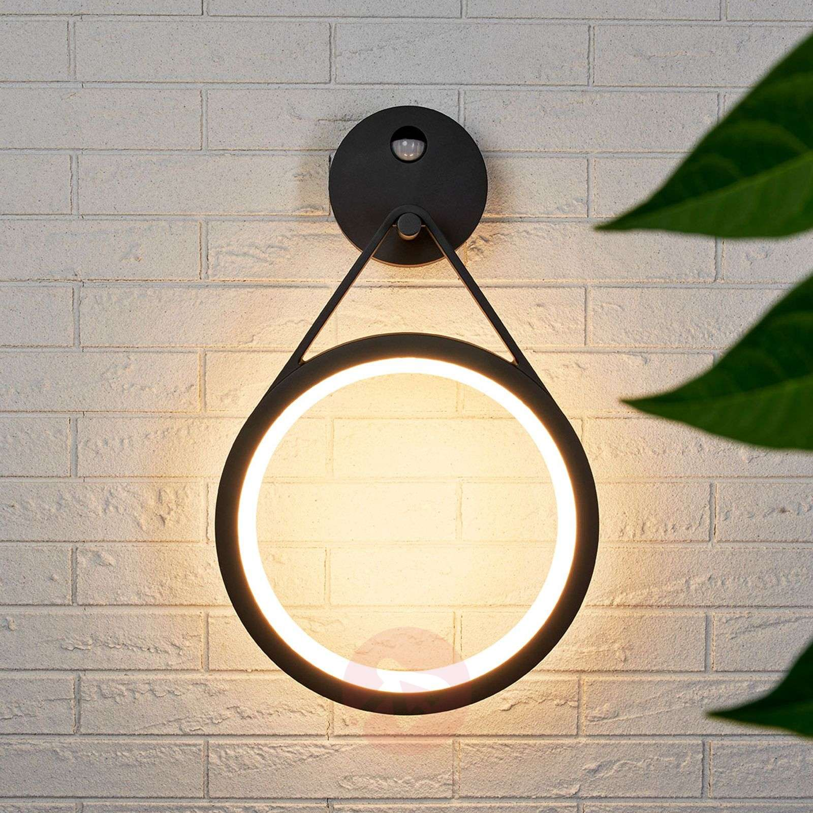 Mirco LED-ulkoseinävalaisin liiketunnistimella-9619146-02