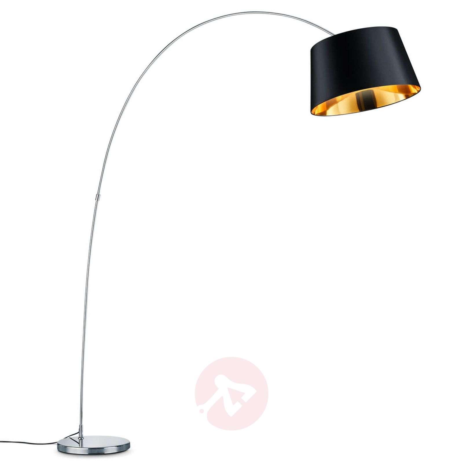 Moderni kaarilamppu Linz tekstiilivarjostimella-9005436-01