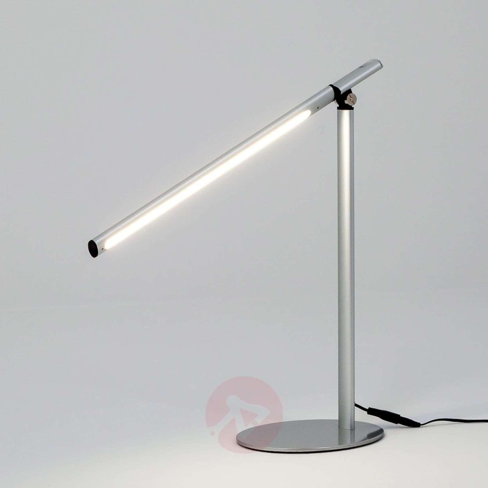 Moderni Kolja-pöytävalaisin LED hopeanharmaa-9643009-04