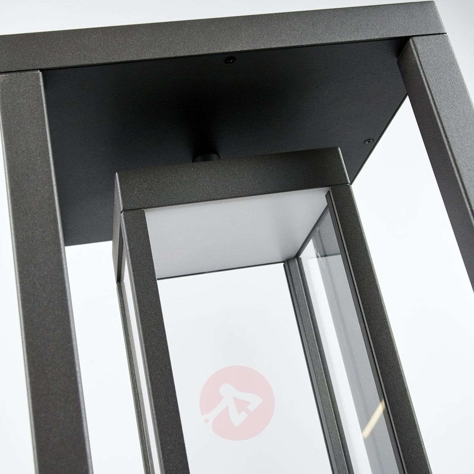 Moderni LED-pylväsvalaisin Ferdinand, tummanharmaa-9619152-01
