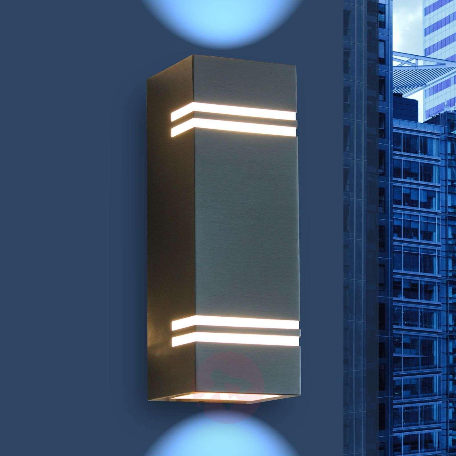Moderni LED-ulkoseinävalaisin Stripes-3006330-01