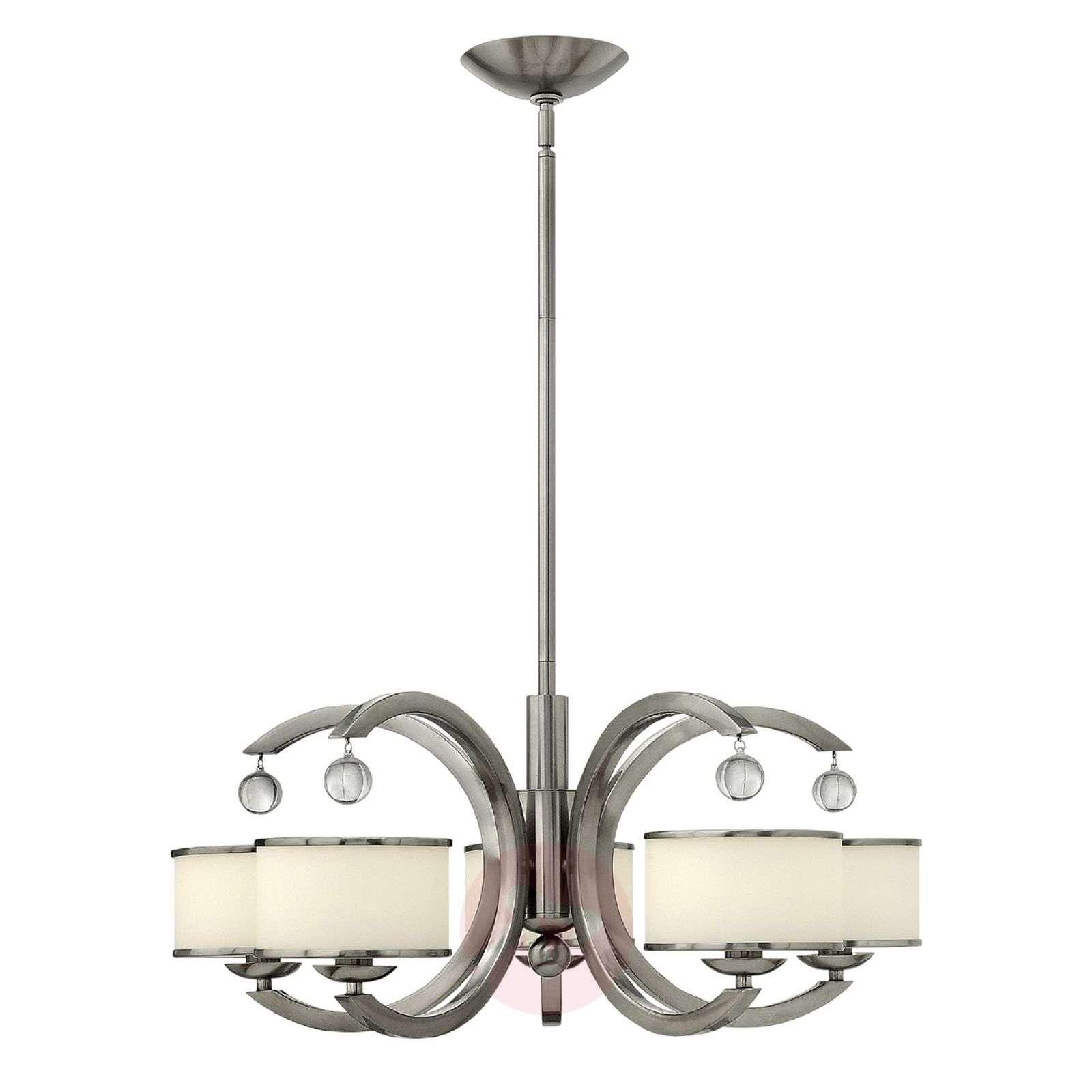 Moderni nikkelinen MONACO-riippuvalaisin-3048102X-01