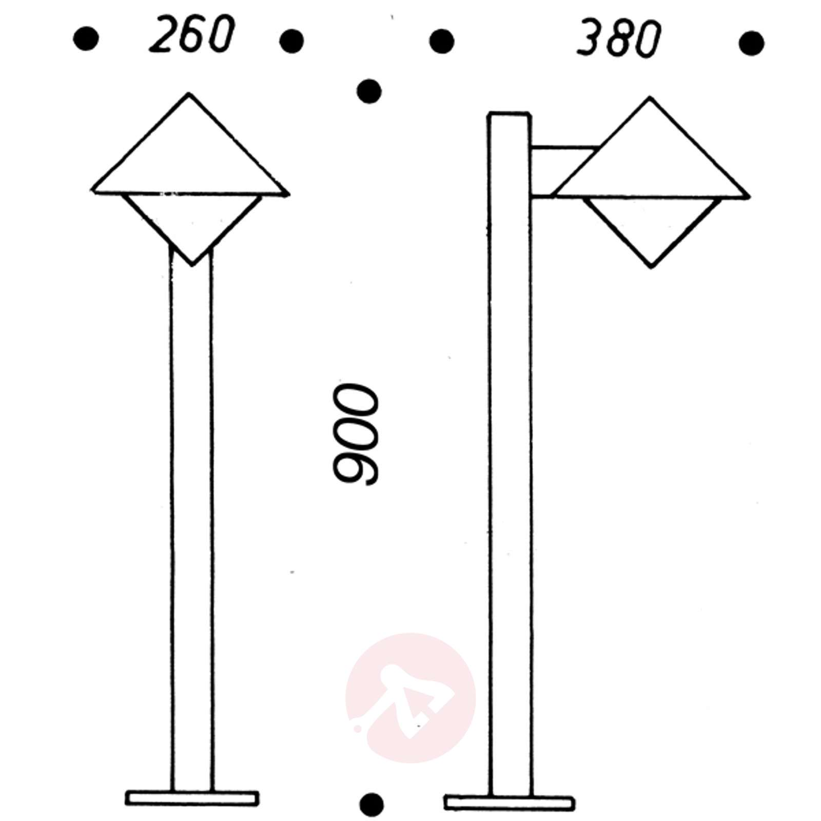 Moderni pylväsvalaisin 202-4001202X-01