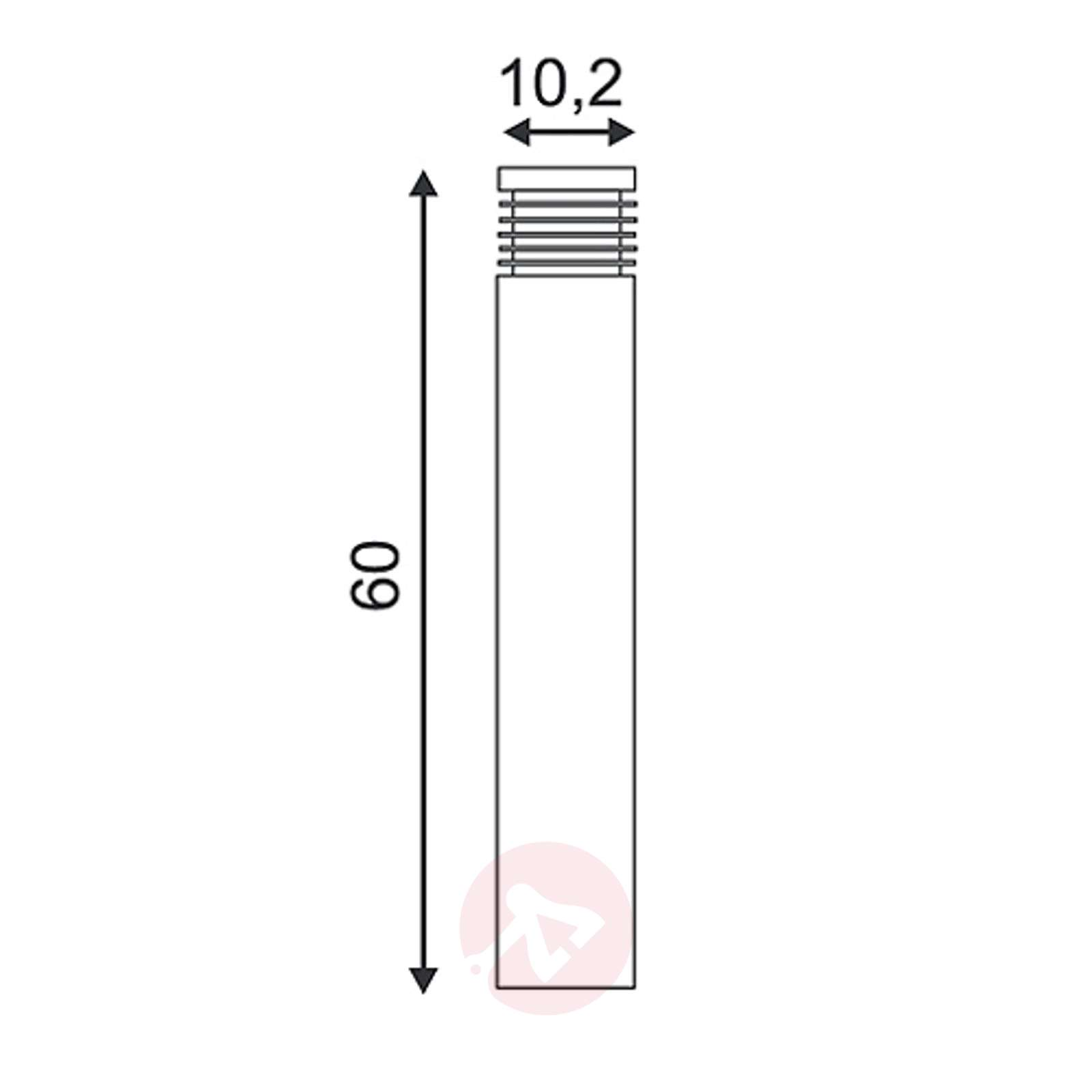 Moderni Vap Slim 60-pylväsvalaisin-5504194-01