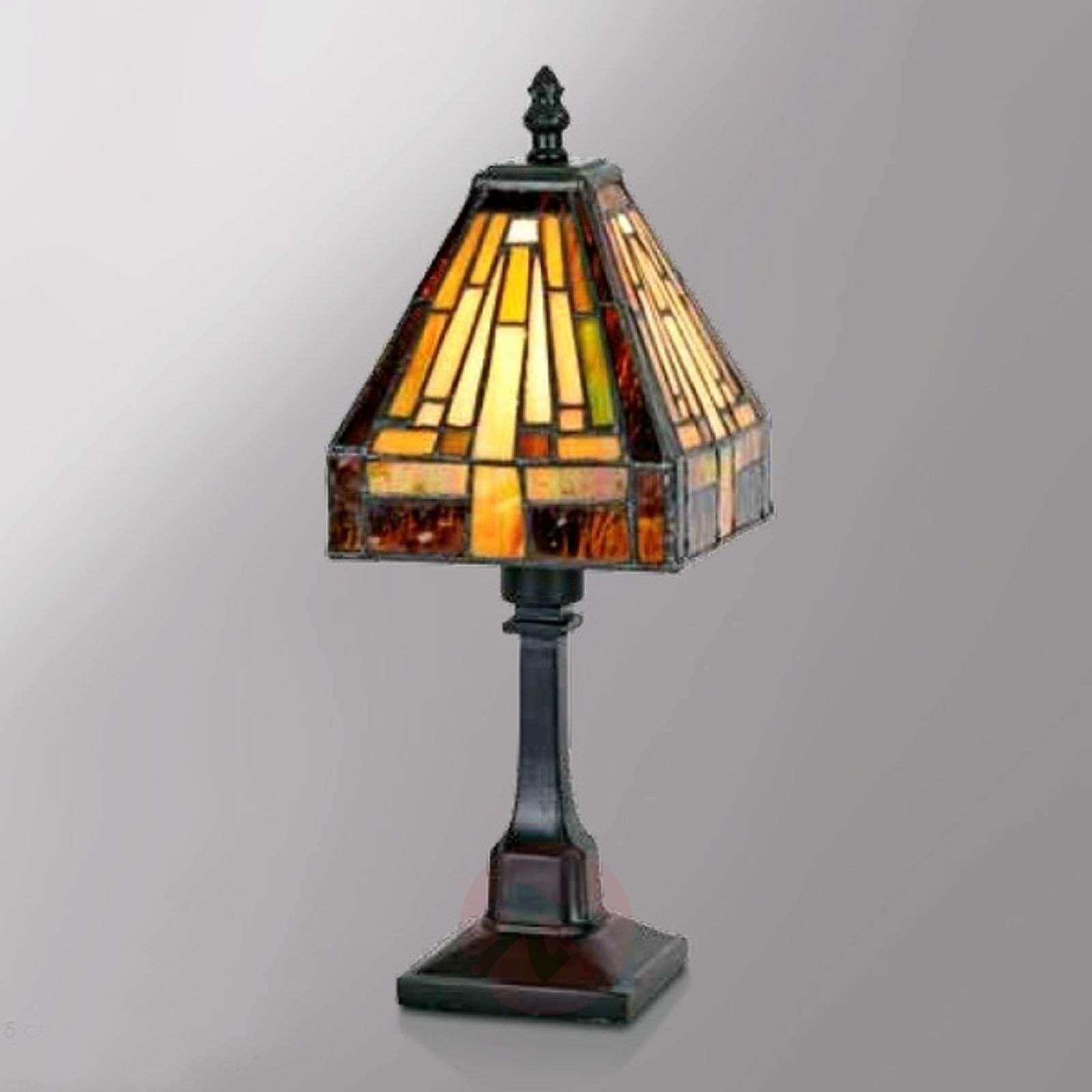 Moniosainen Tiffany-tyylinen Bea-pöytävalaisin-1032268-01