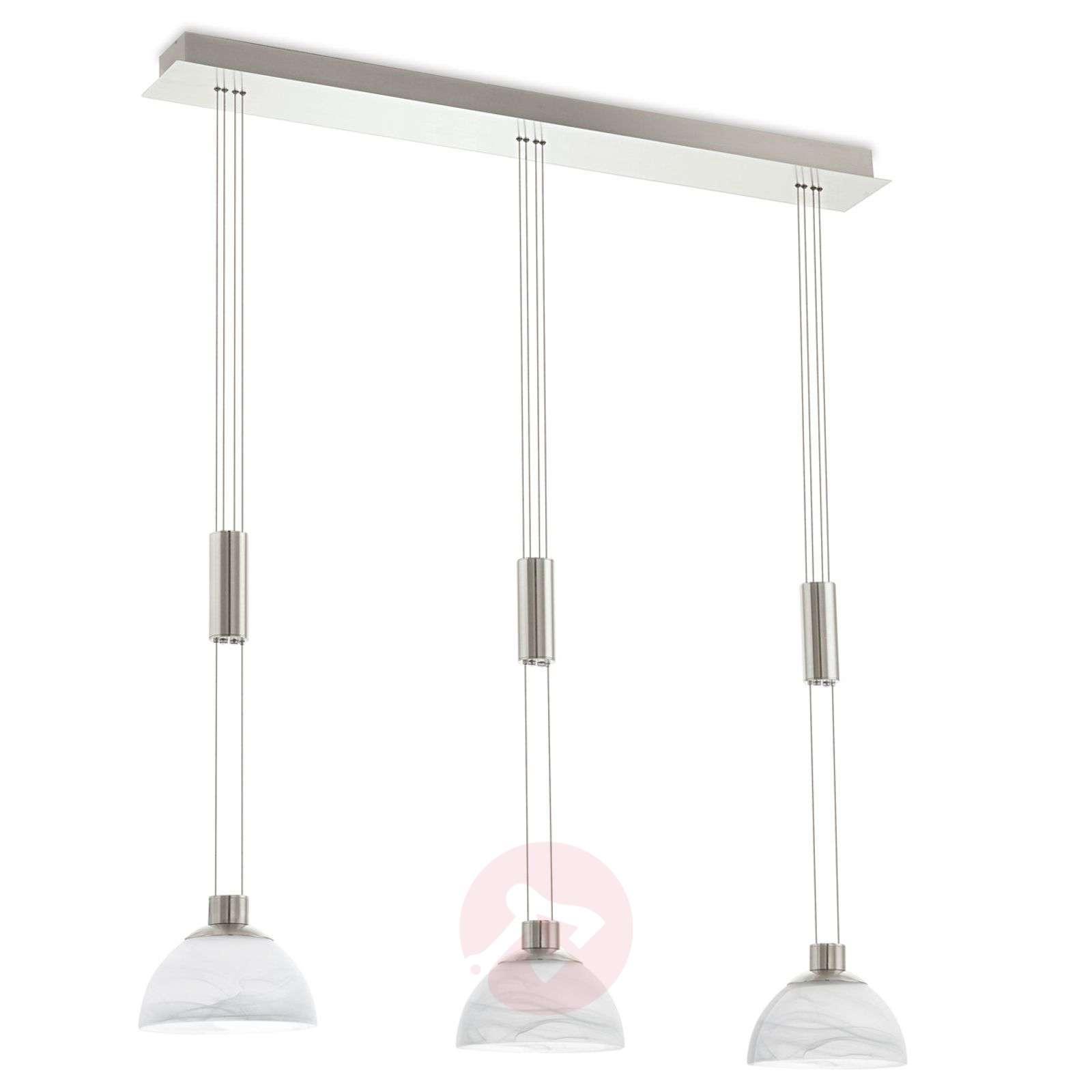 Montefio 3-lamppuinen LED-riippuvalaisin-3031653-01