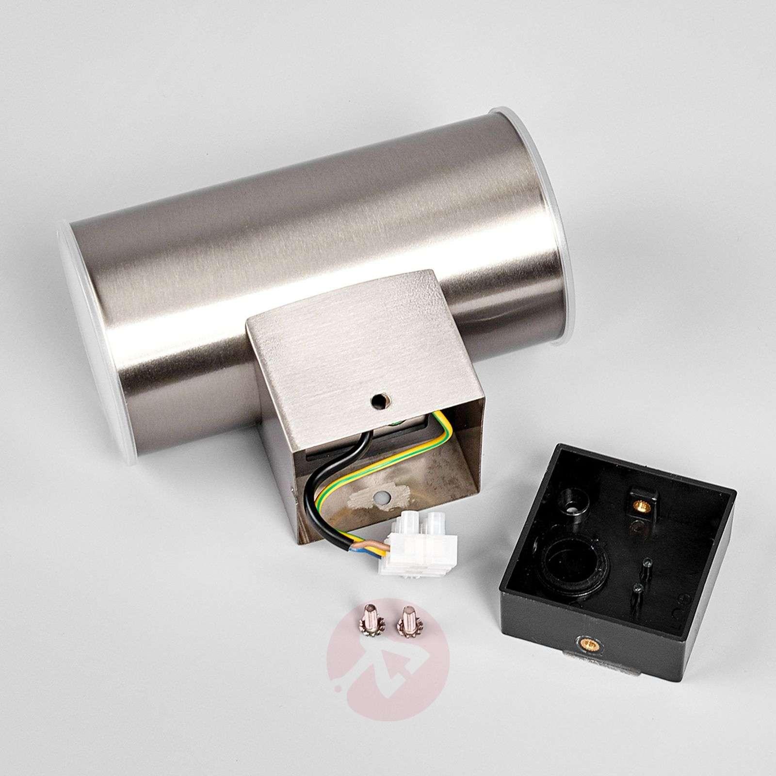 Morena LED-ulkoseinävalaisin, ruostumaton-9988056-01