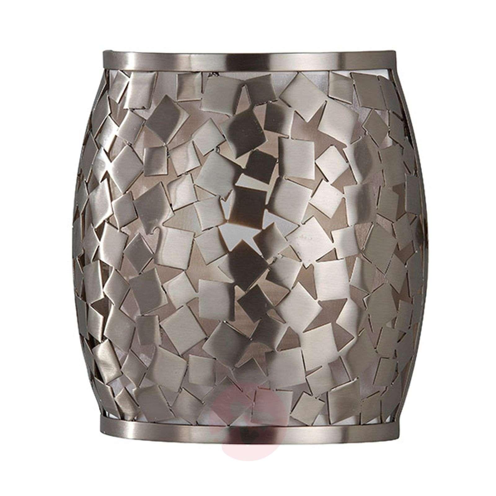 Mosaiikkimainen hopeinen Zaria-seinävalaisin-3048252-01