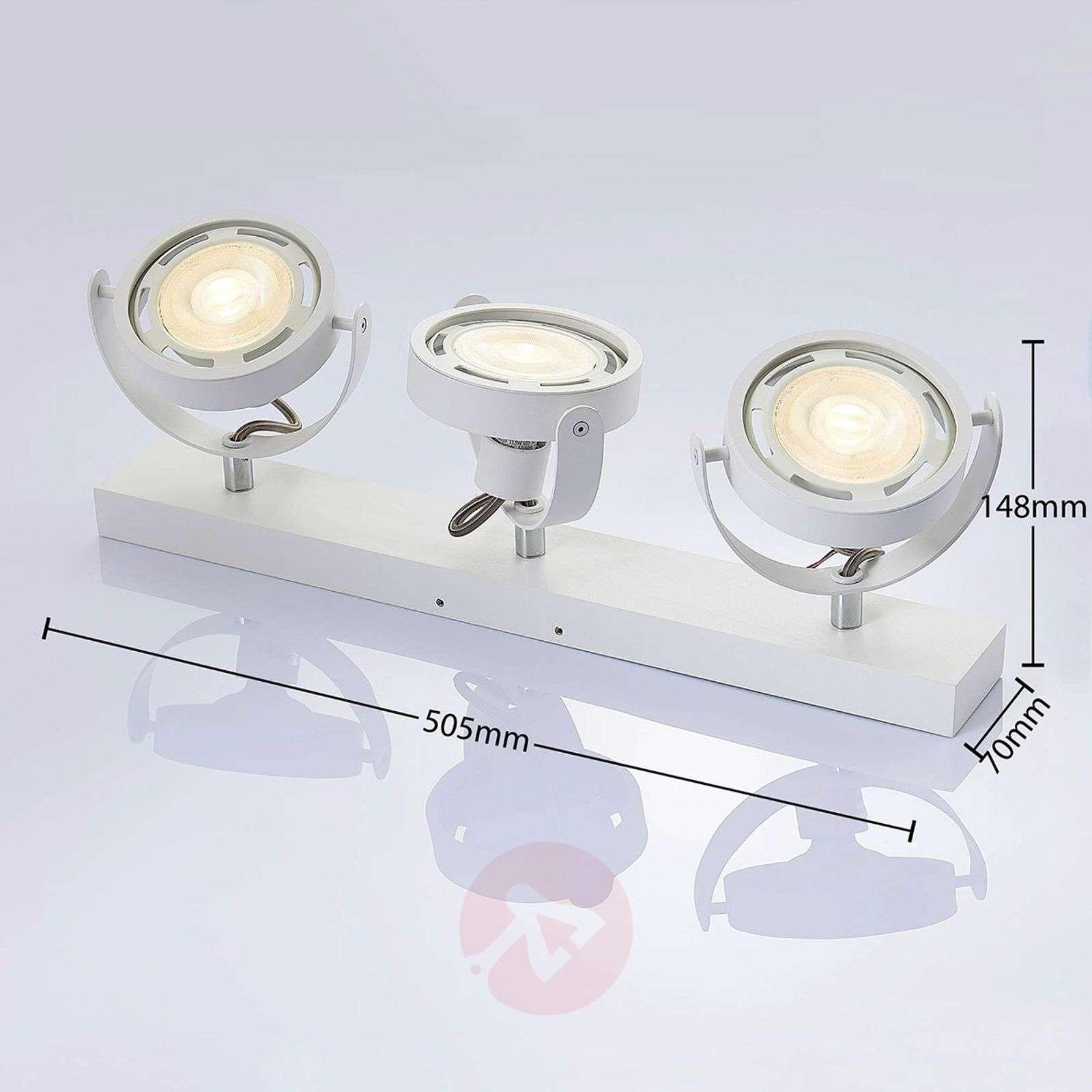 Munin himmennettävä GU10-LED-spotti, valkoinen-9621881-02