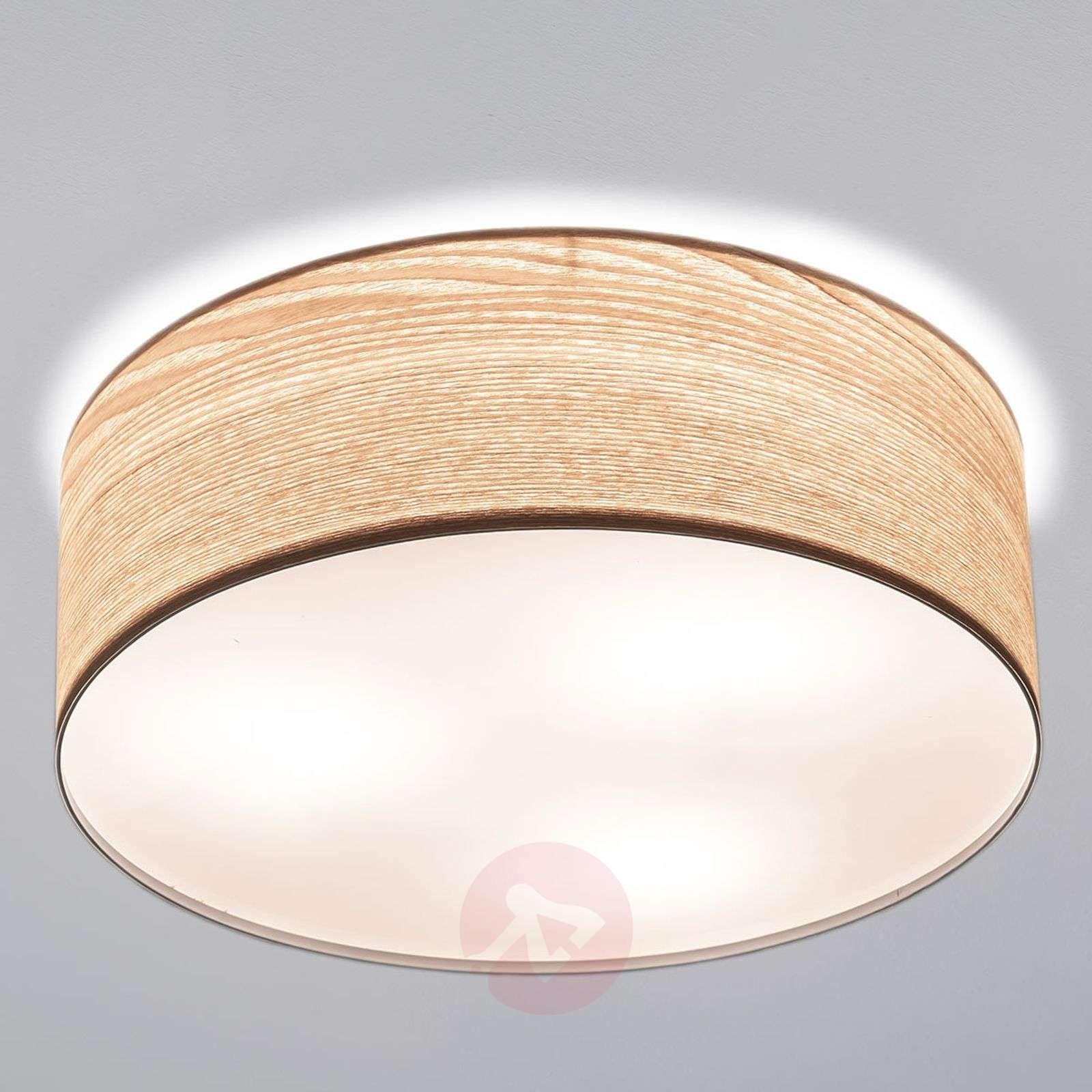 Muodikas Liska-pöytälamppu vaaleaa puuta-7601084-01