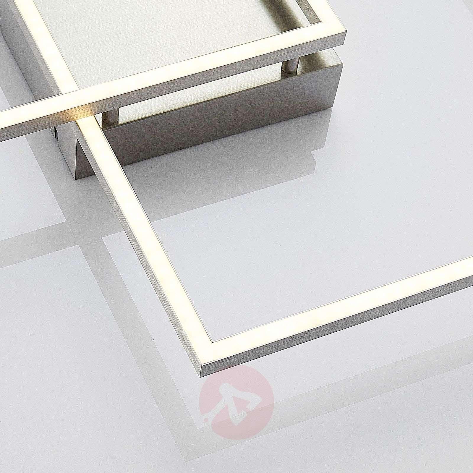 Muotoilultaan kiehtova LED-kattolamppu Mirac-7620024-02