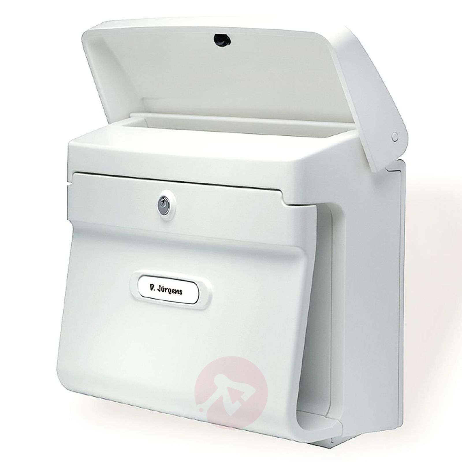 Muovinen Bremen-postilaatikko, 2 värivaihtoehtoa-1532001X-01
