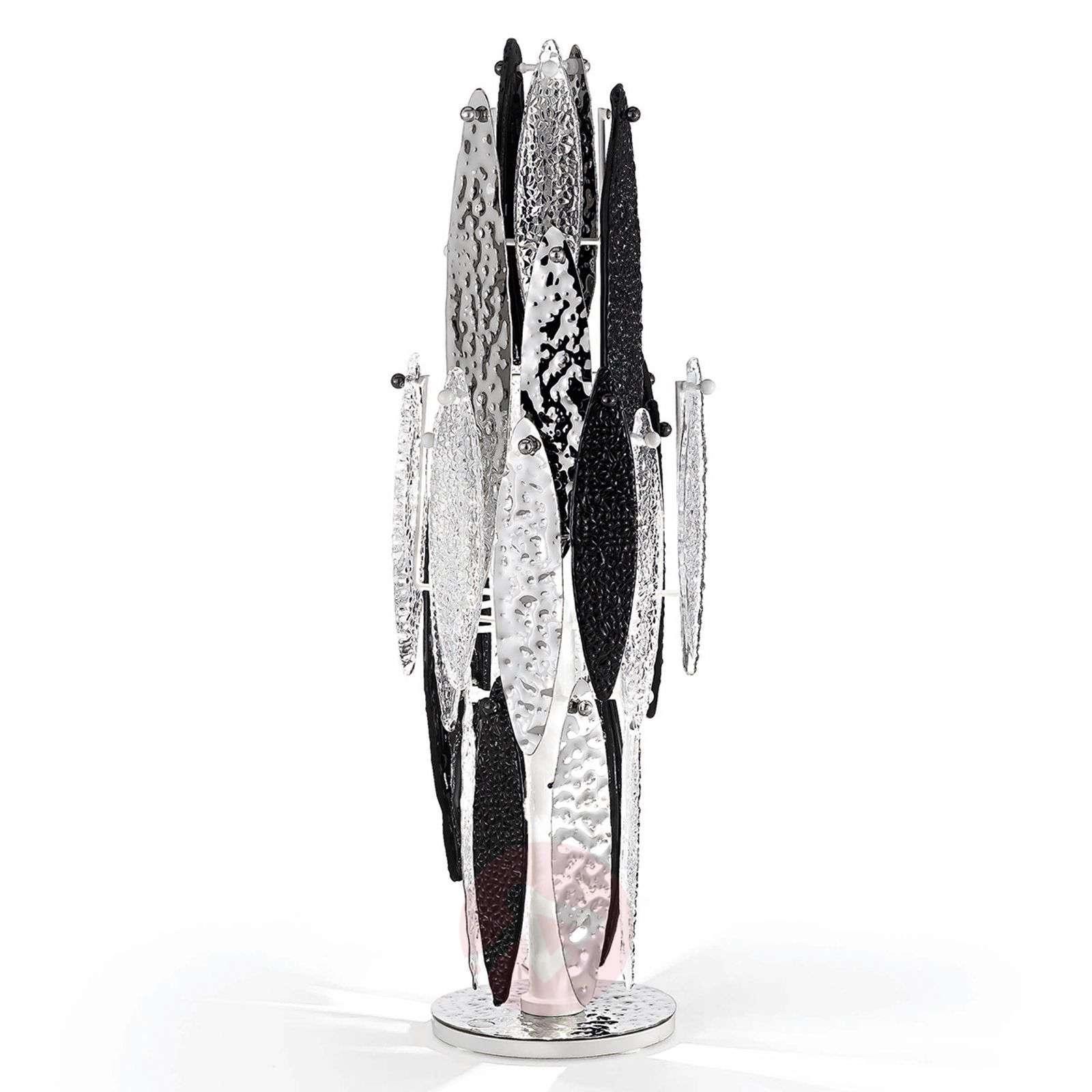 Murano-pöytävalaisin Ice Rain LEDeillä-5016335-01