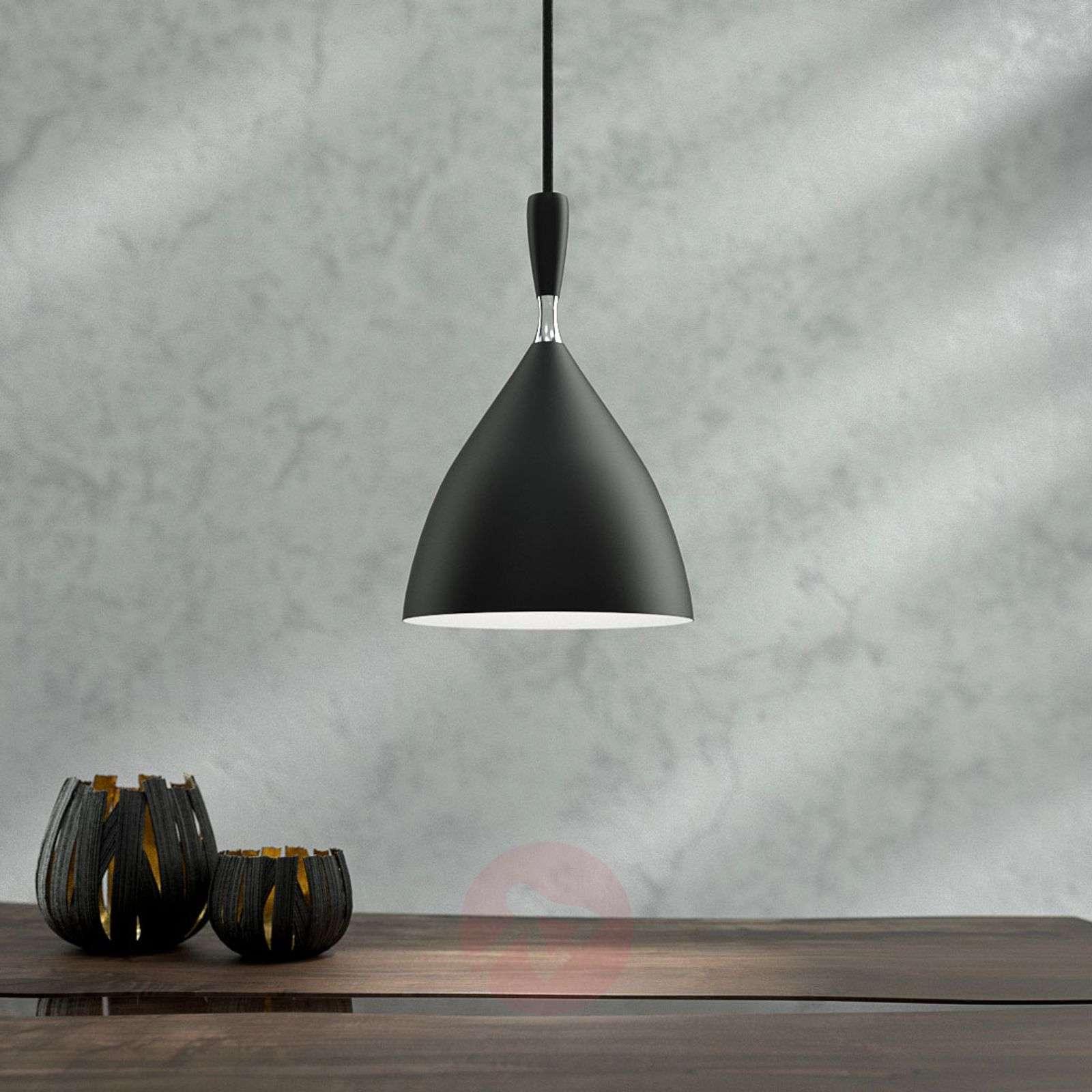 Musta design-riippuvalaisin Dokka-7013090-01