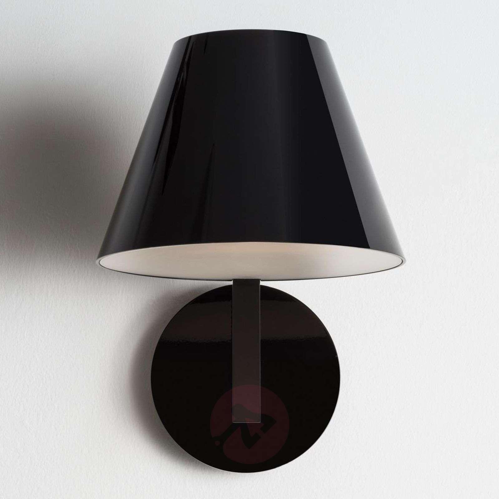 Musta design-seinävalaisin La Petite-1060042-01