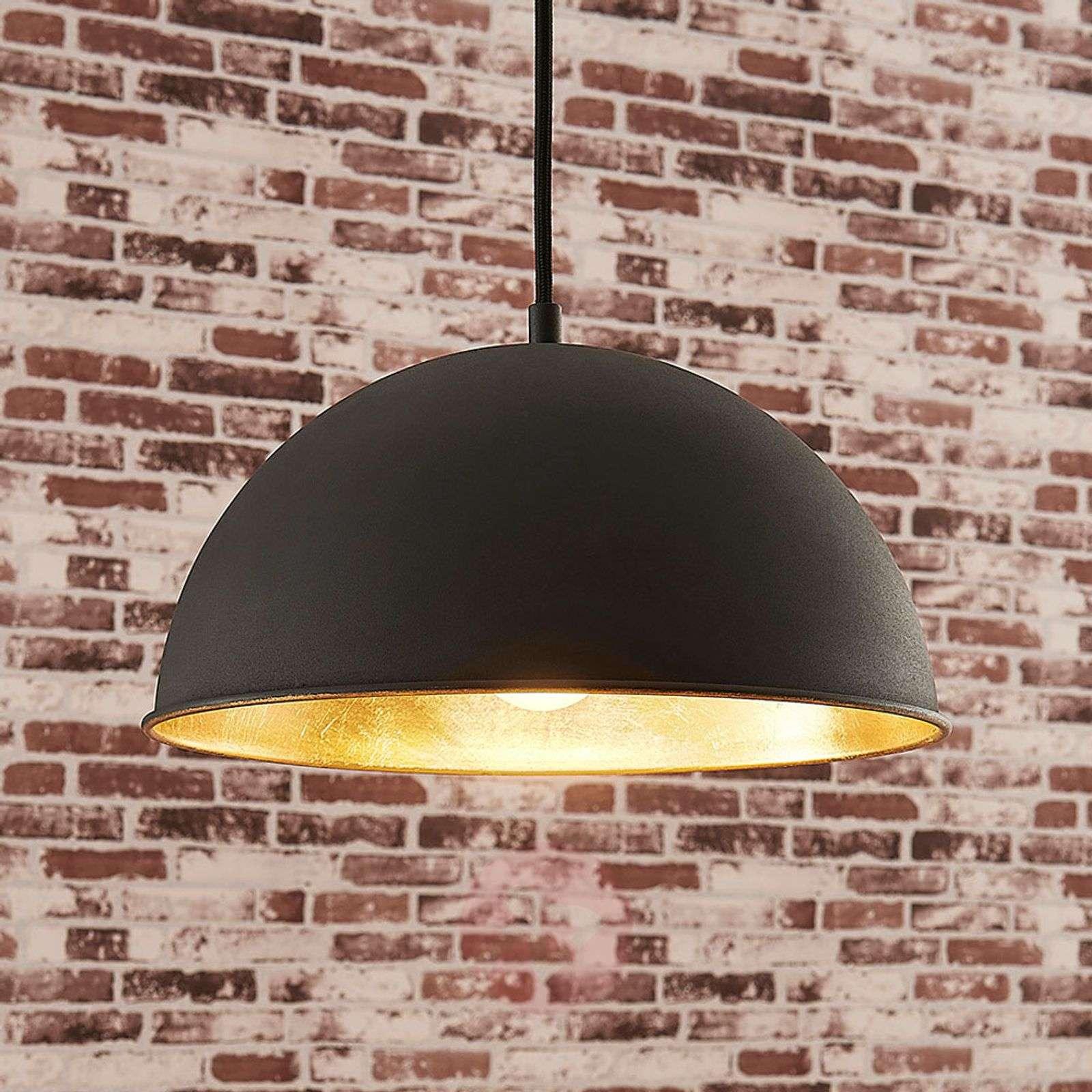Musta-kultainen riippuvalaisin Leya-9621366-02
