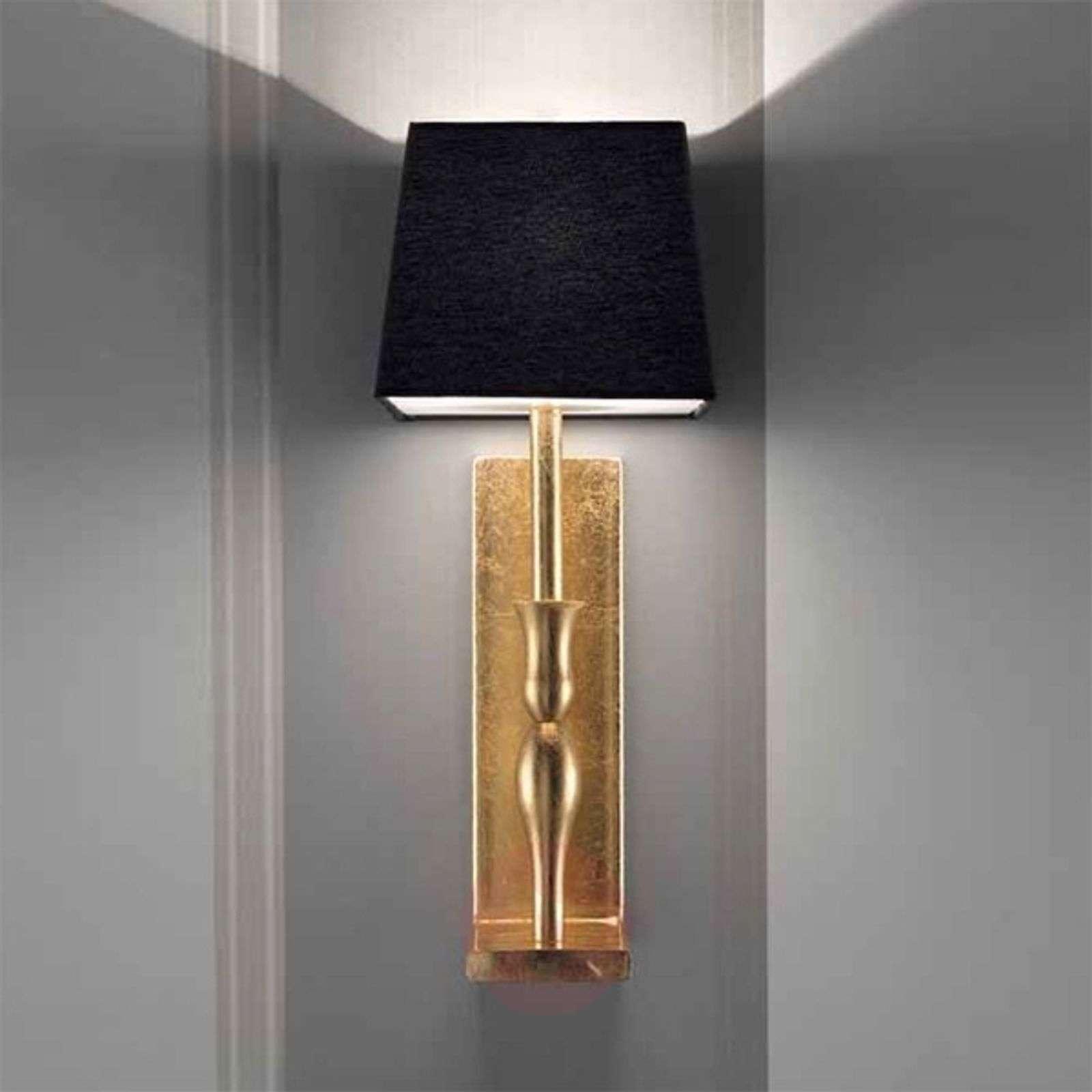 Musta-kultainen seinävalaisin Slim-6516226-01