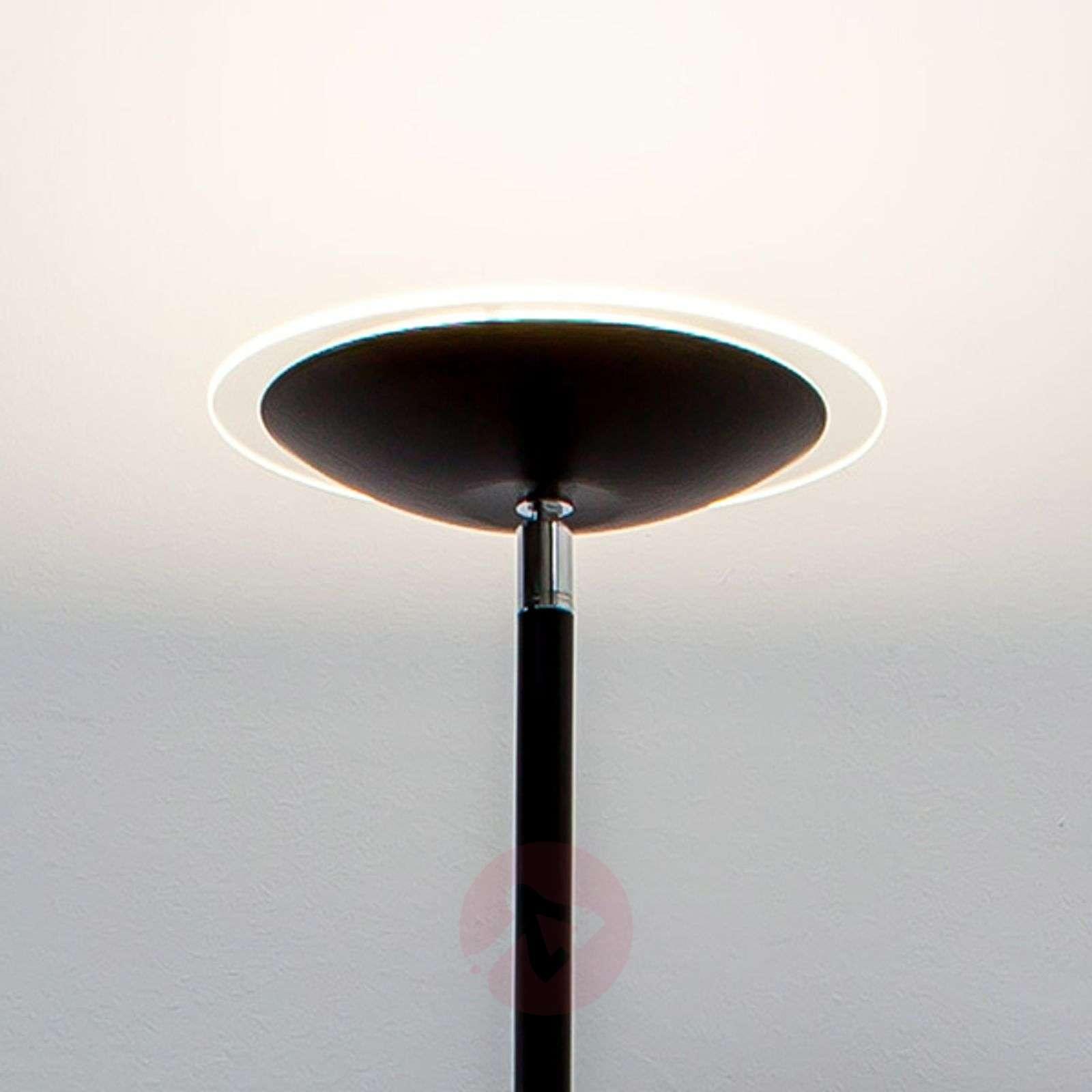 Musta LED-lattiavalaisin Malea-9620041-01