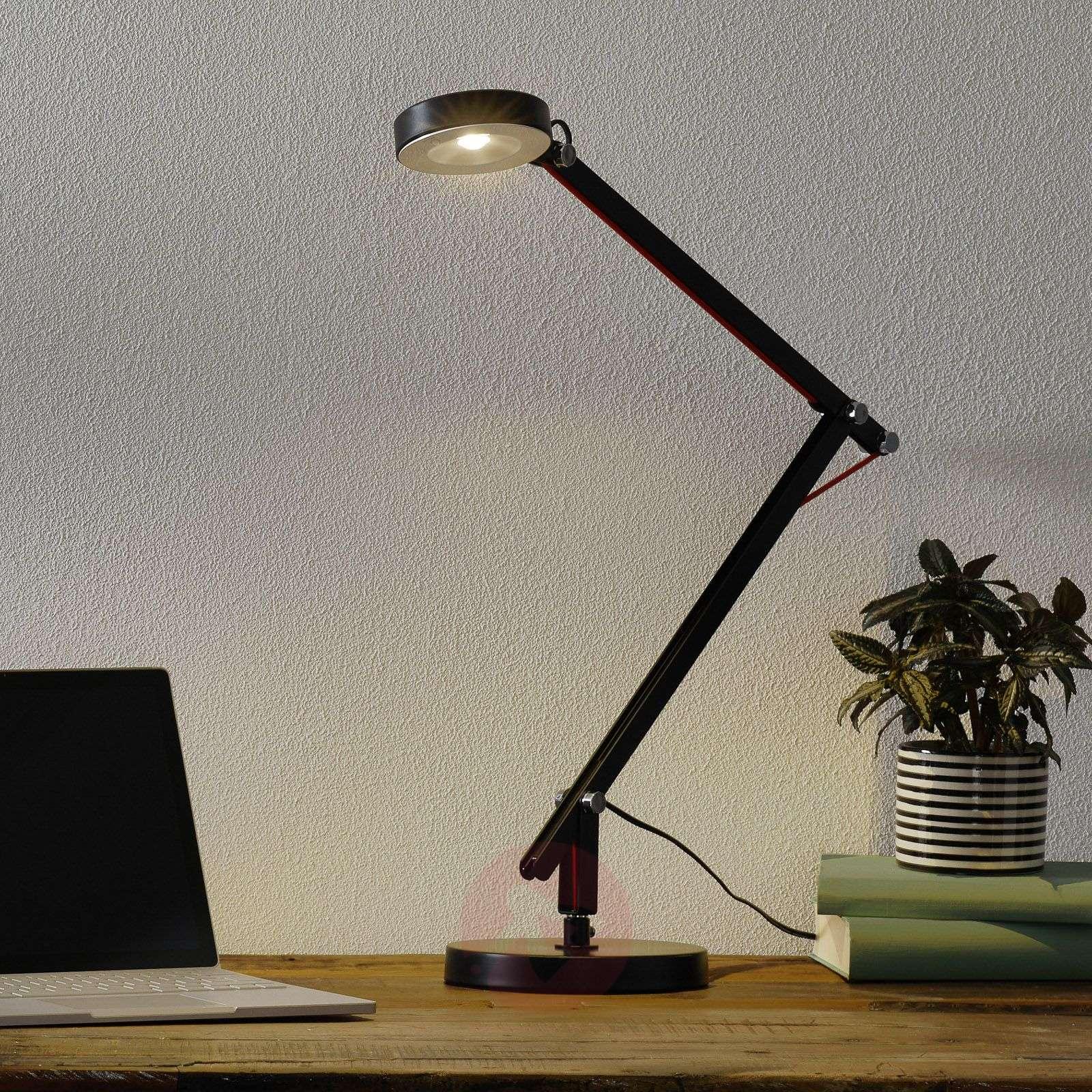 Musta LED-monitoimivalaisin Amsterdam-9005133-01